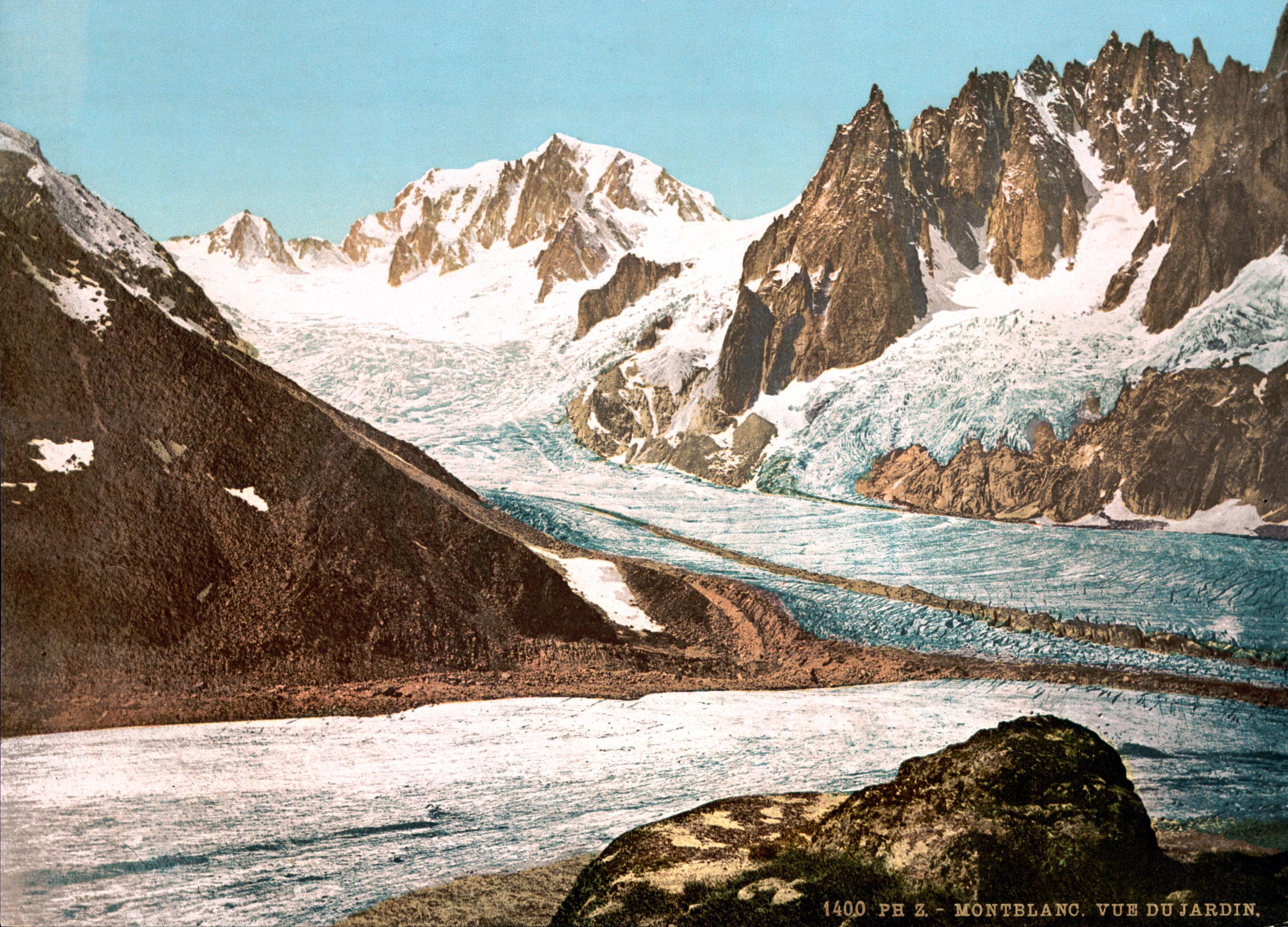 File vue du mont blanc depuis le jardin for Jardin 2 montagnes