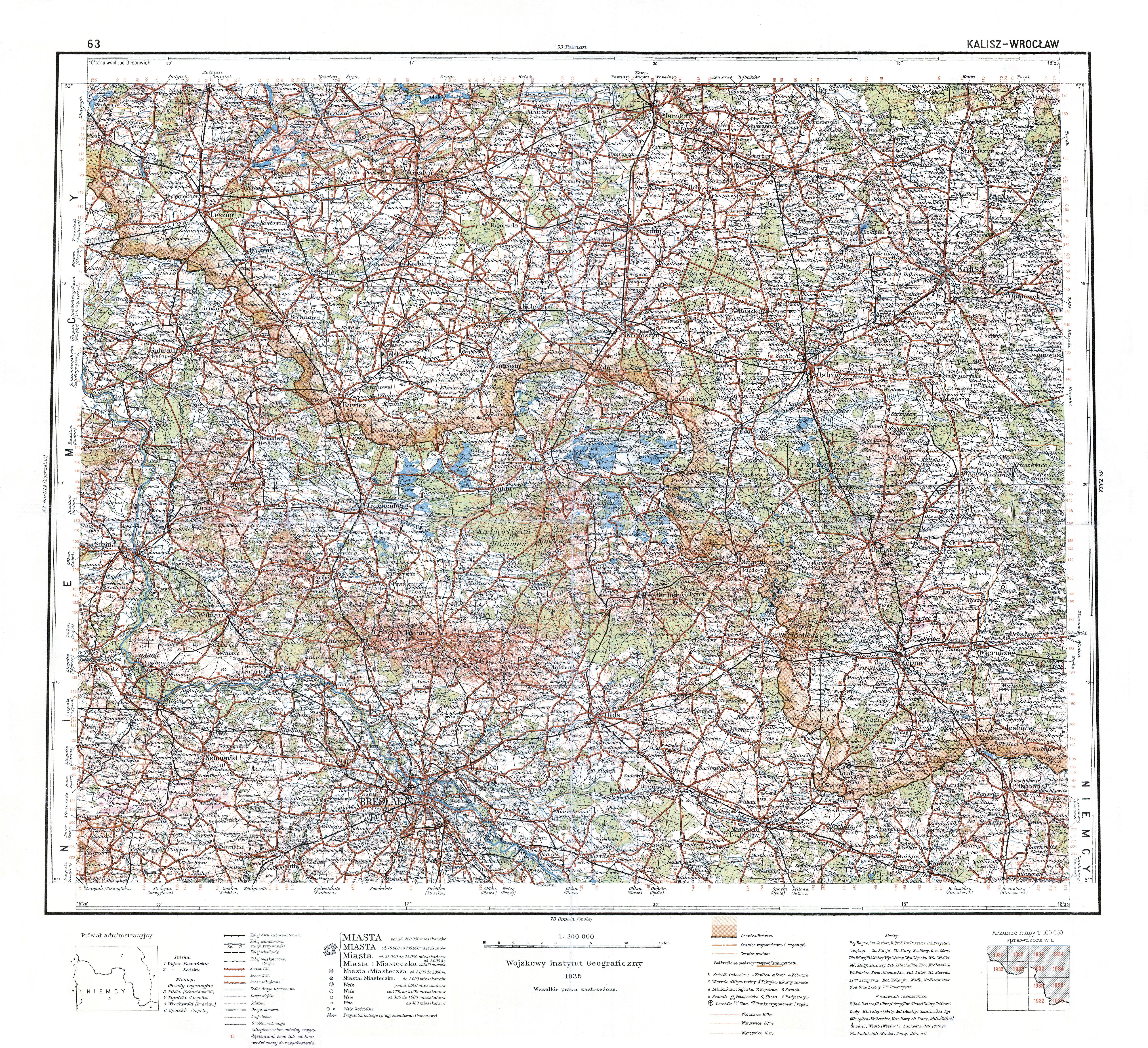 File Wig Mapa Operacyjna Polski 63 Kalisz Wroclaw 1935 Jpg