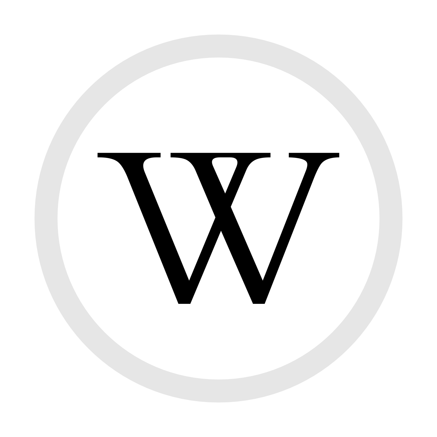 Restren W In Circle Png Wikipedia