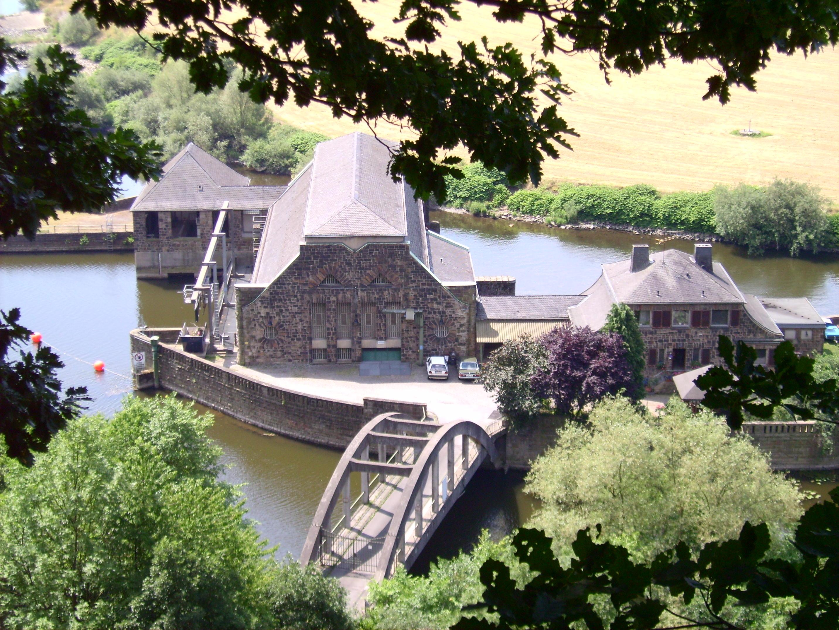 Wasserkraftwerk Hohenstein