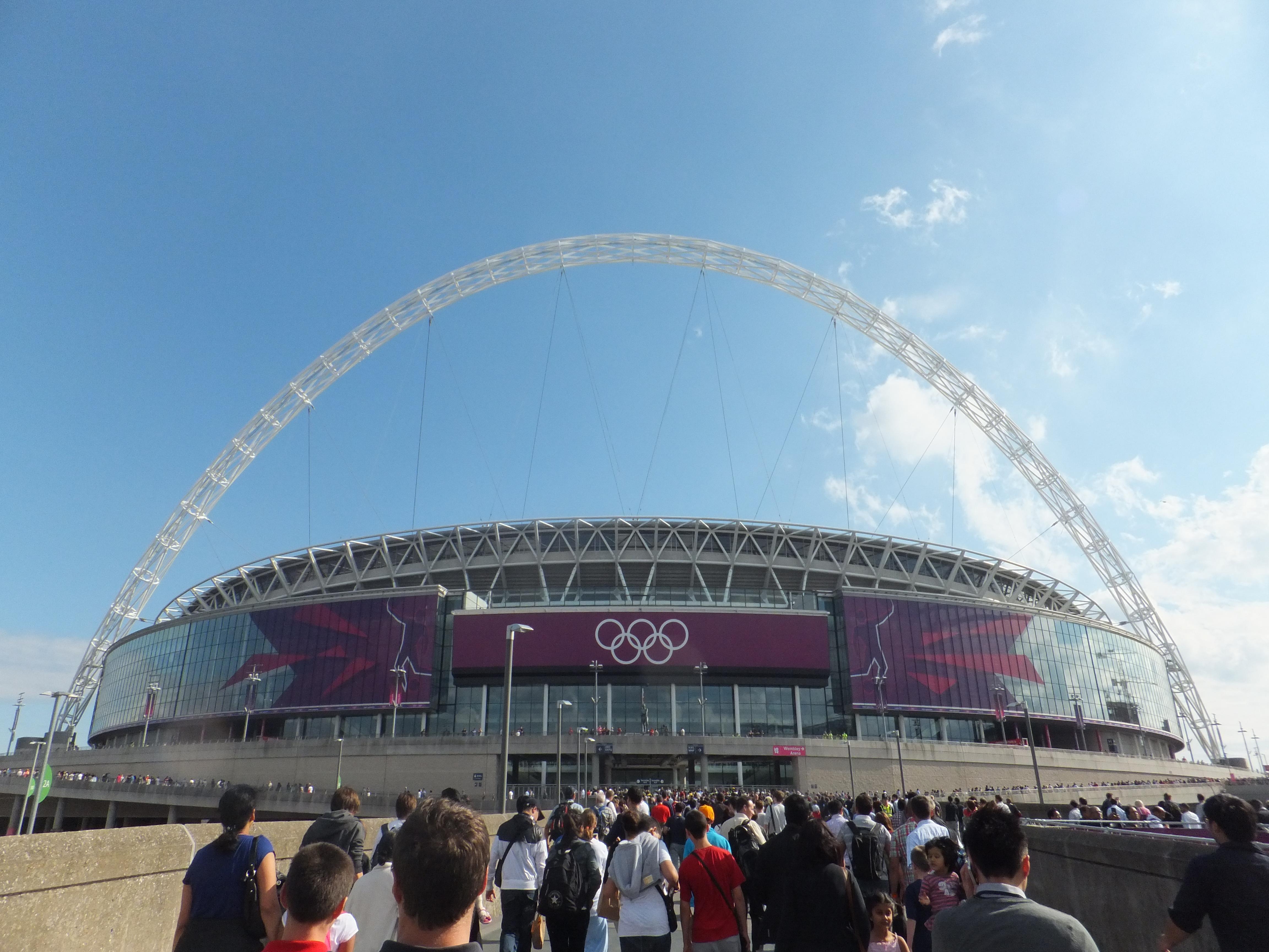 Wembley Stadium Perimeter Wembley Stadium During The
