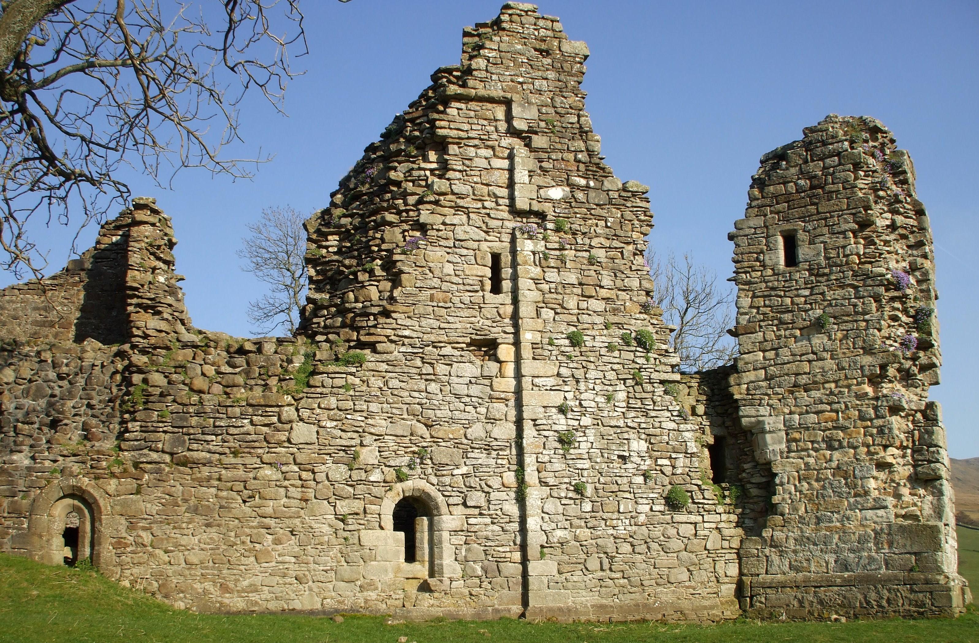 Pendragon Castle - Wikipedia