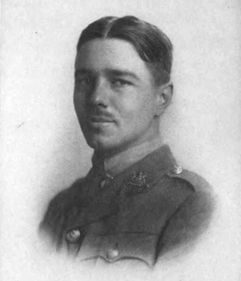 Wilfred Owen 1893-1918 (source: Wikimedia Commons)