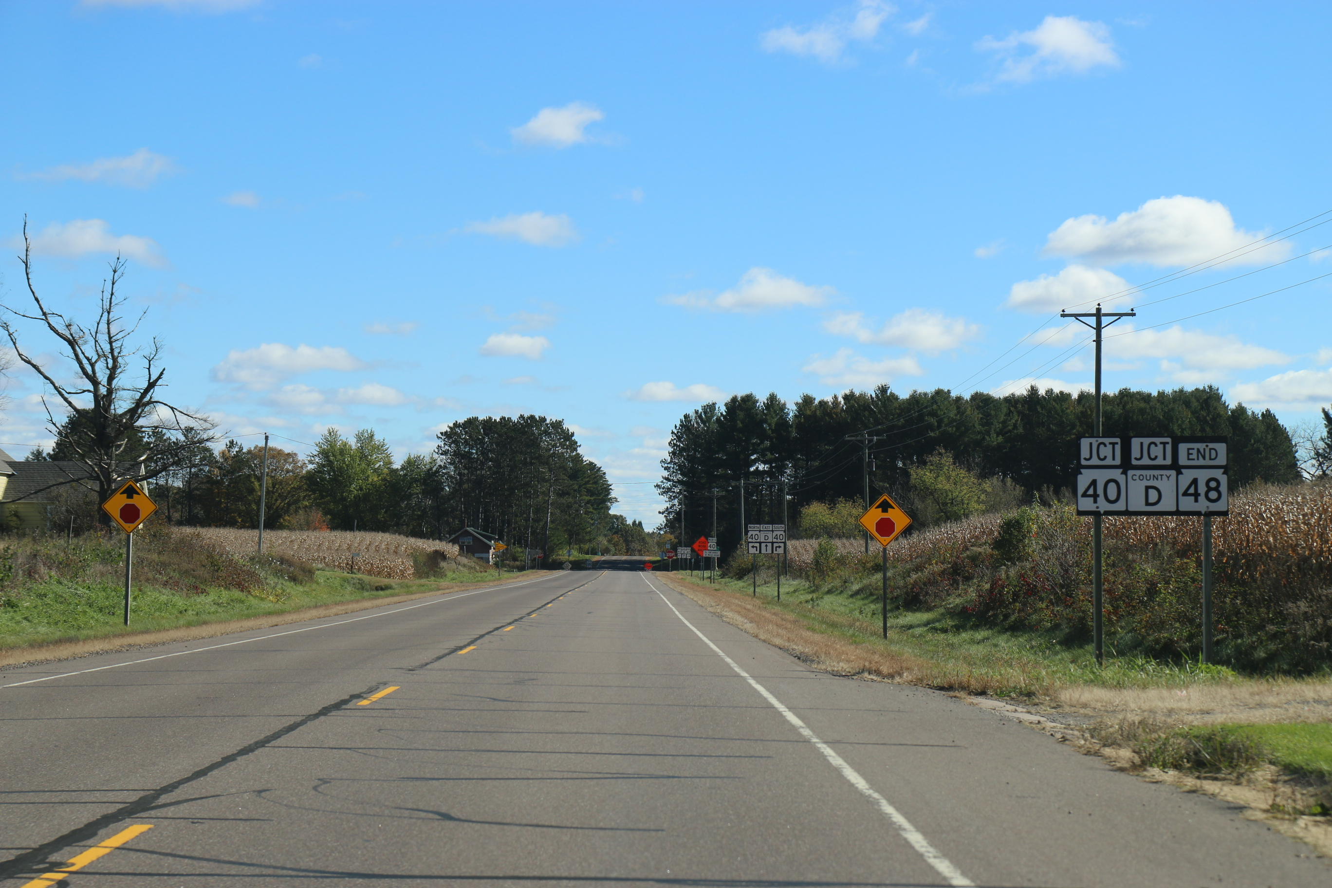 Wisconsin Road Map Printable, Wisconsin Highway 48, Wisconsin Road Map Printable