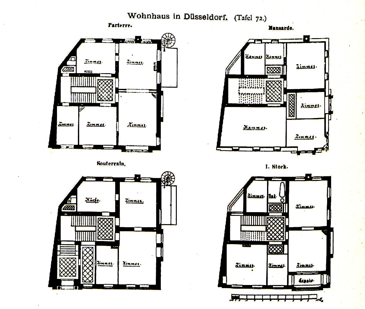 File wohnhaus tonhallenstrasse 16 d sseldorf architekt for Wohnhaus grundriss