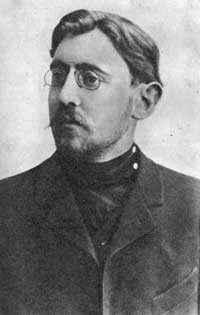 Yakov Perelman around 1910.