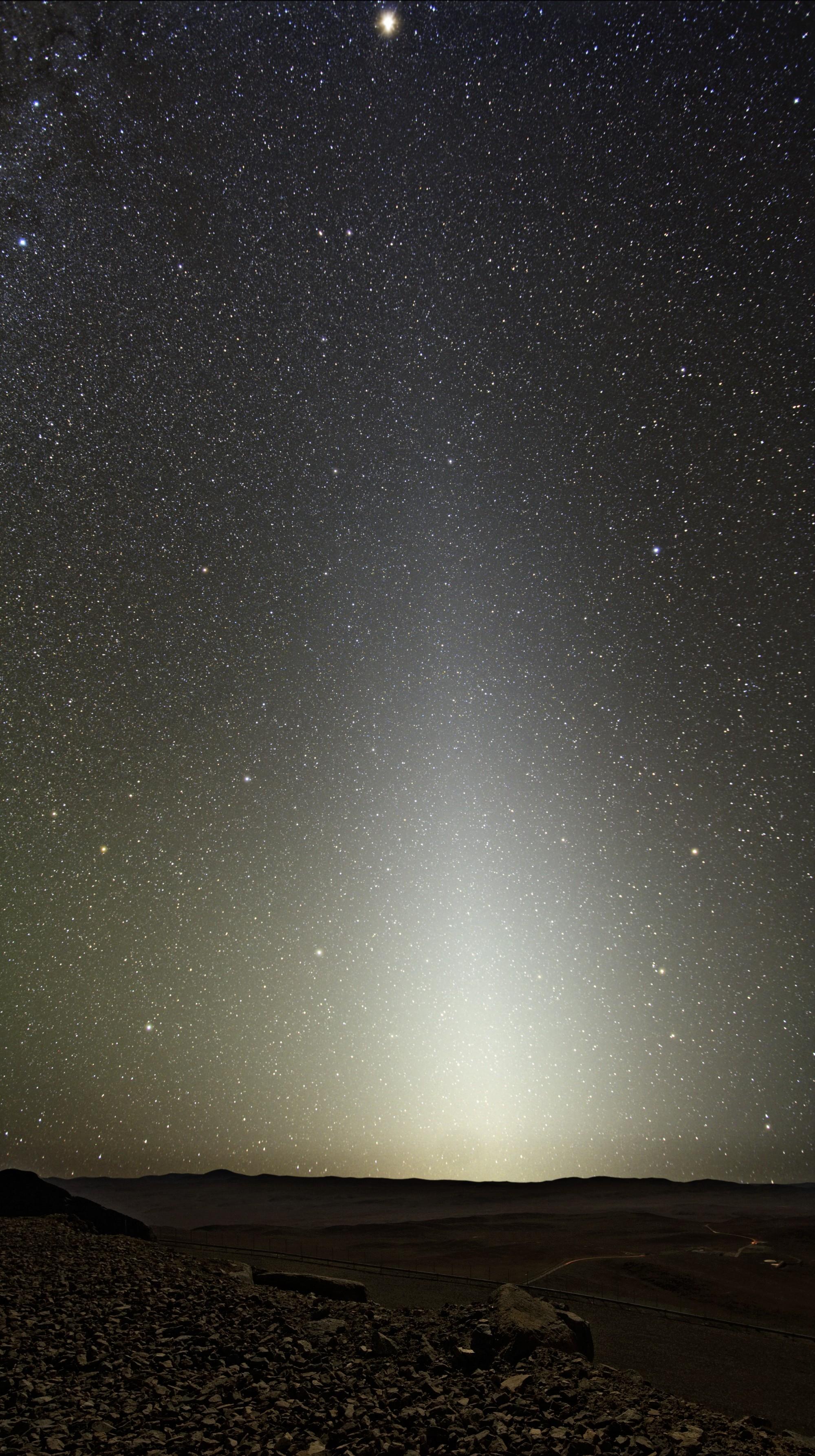 Resultado de imagem para luz zodiacal