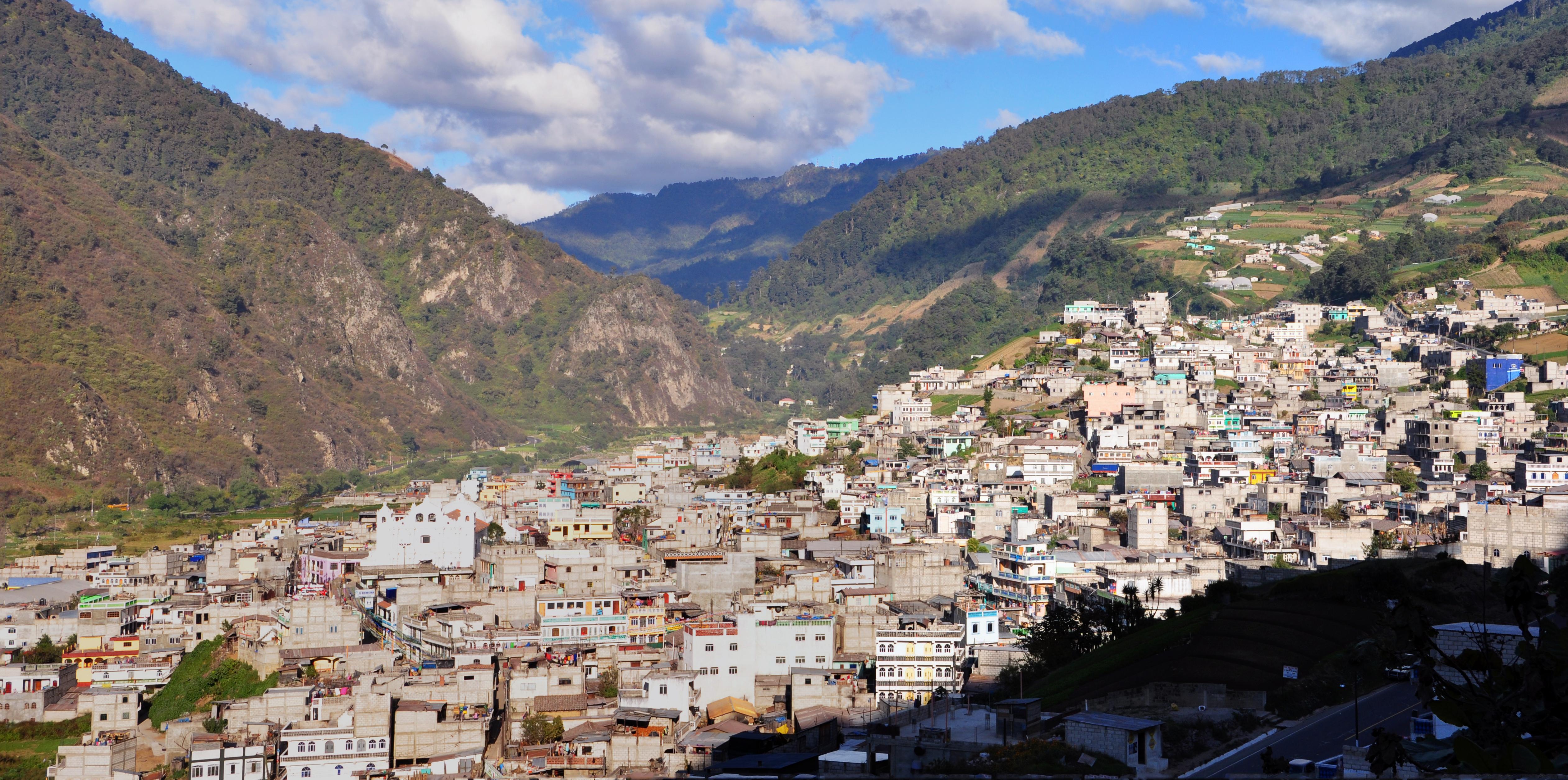Zunil Guatemala Panorama Guatemalan Civil War Wikipedia