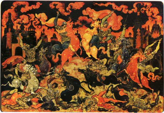File:Куликовская битва. Шкатулка, 1928. МНИ.jpg