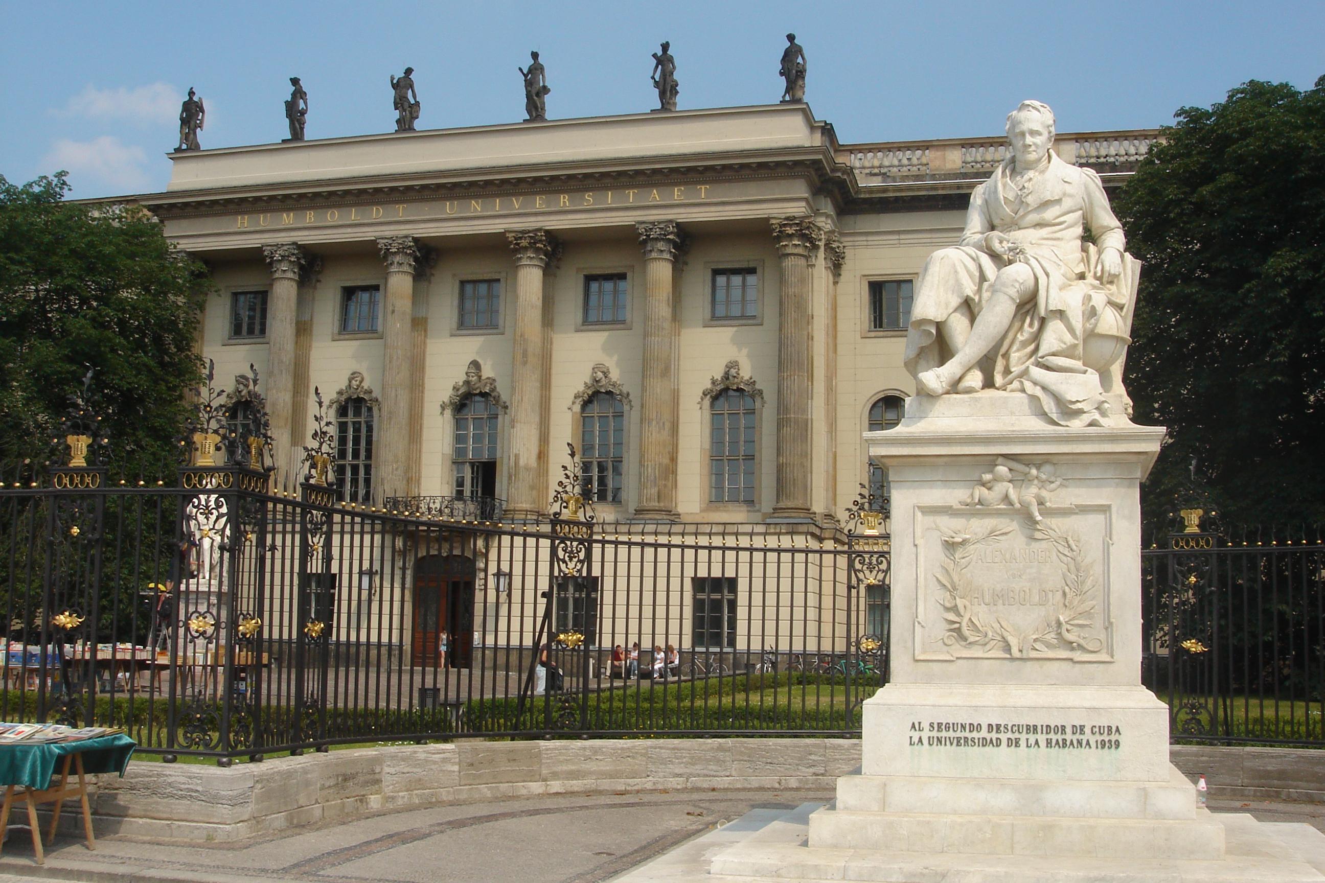 Veja o que saiu no Migalhas sobre Universidade Humboldt de Berlim