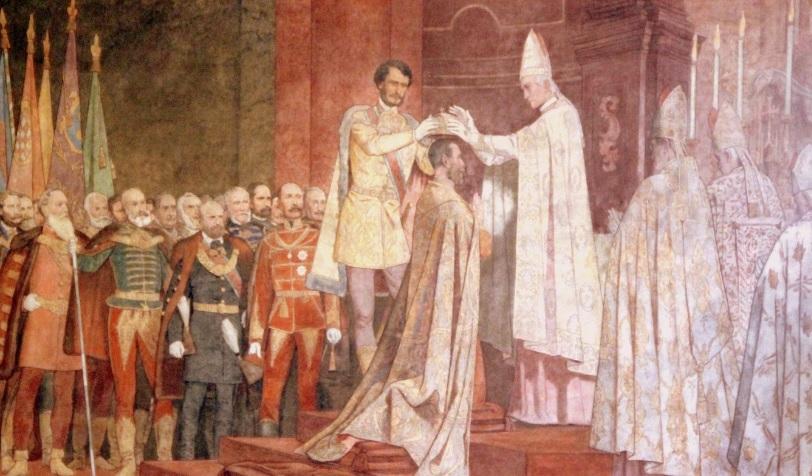 1867. június 8 Ferenc József koronázása.jpg