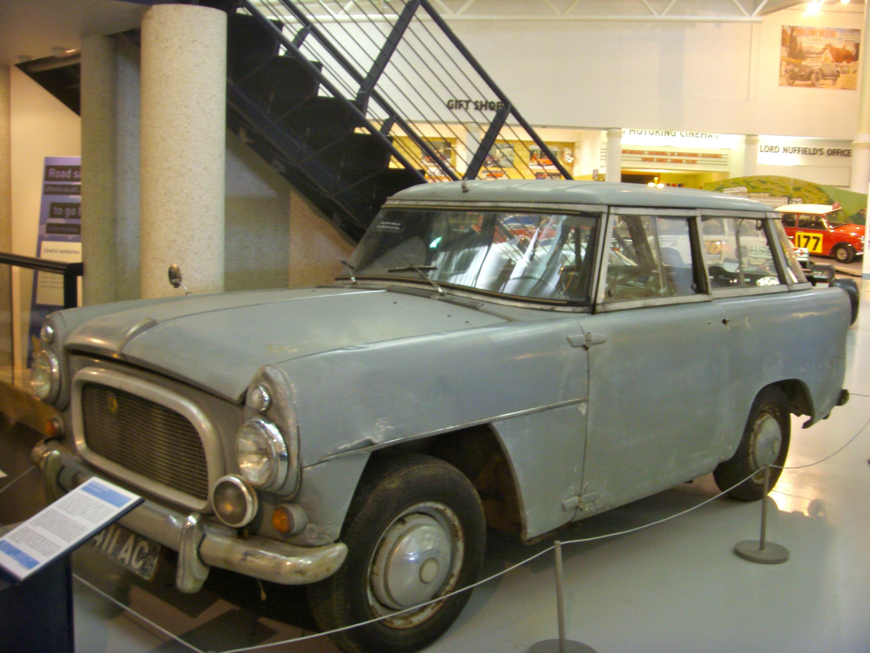 File 1958 Road Rover Series Ii Prototype Heritage Motor