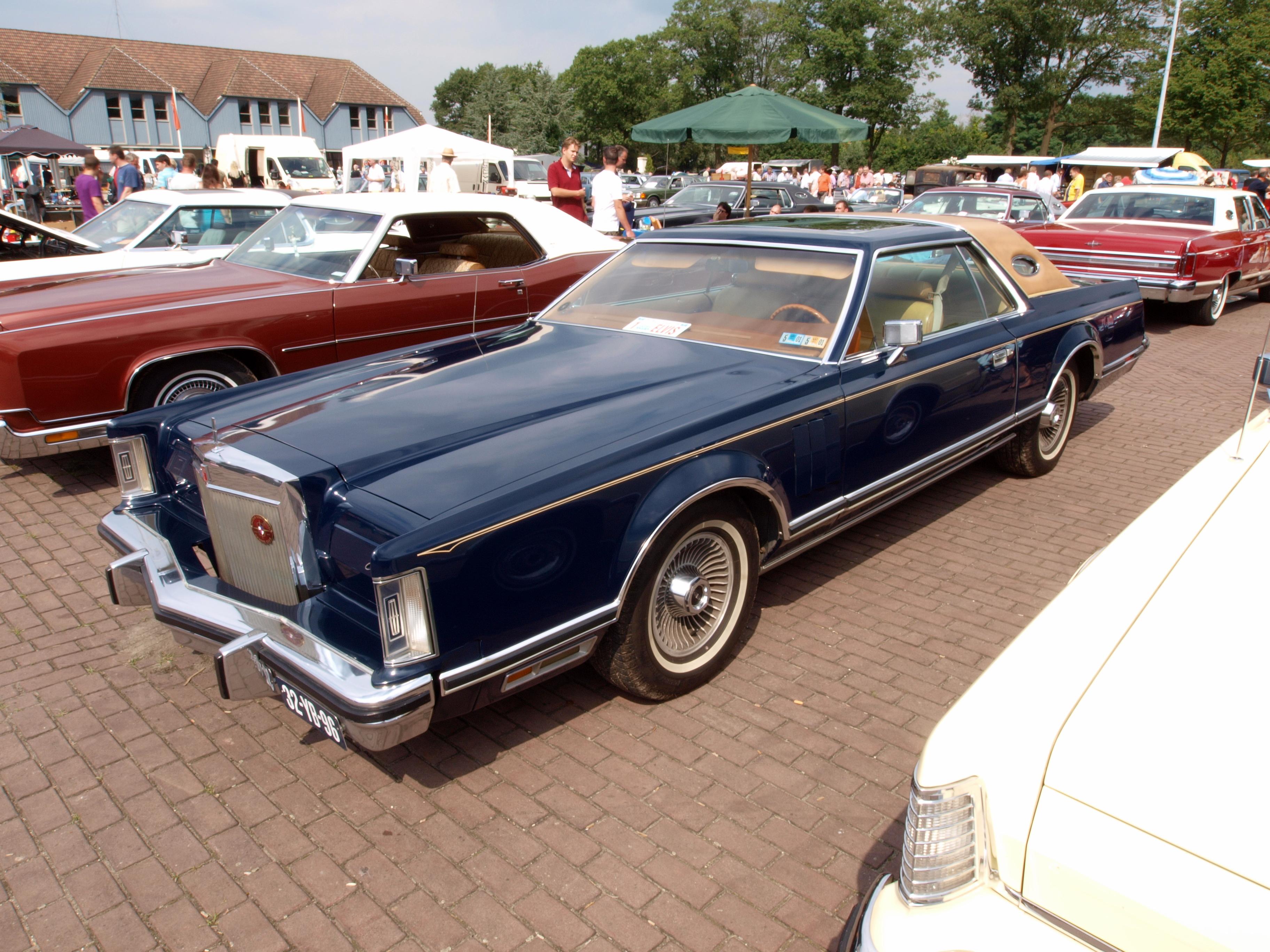 File 1976 Lincoln Continental Mark V Dutch Licence