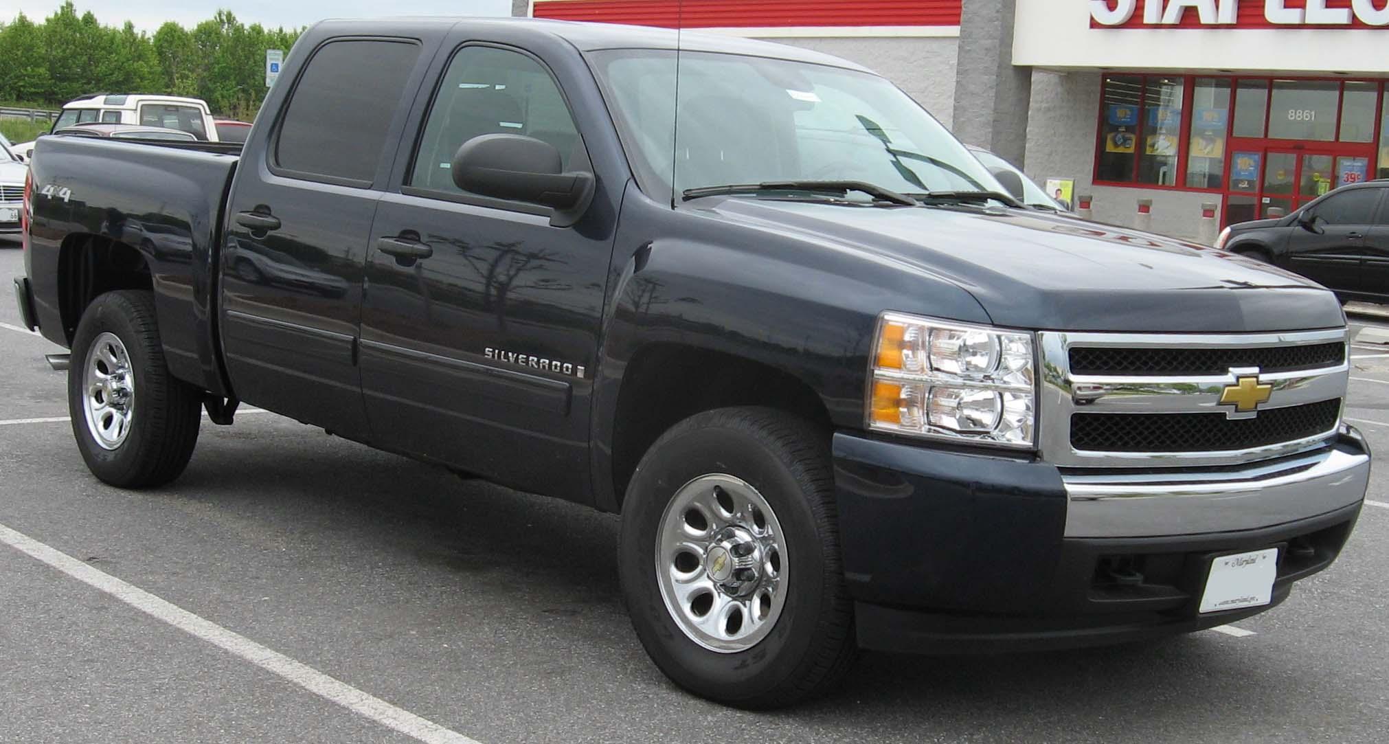Chevy Silverado 2007 Lifted