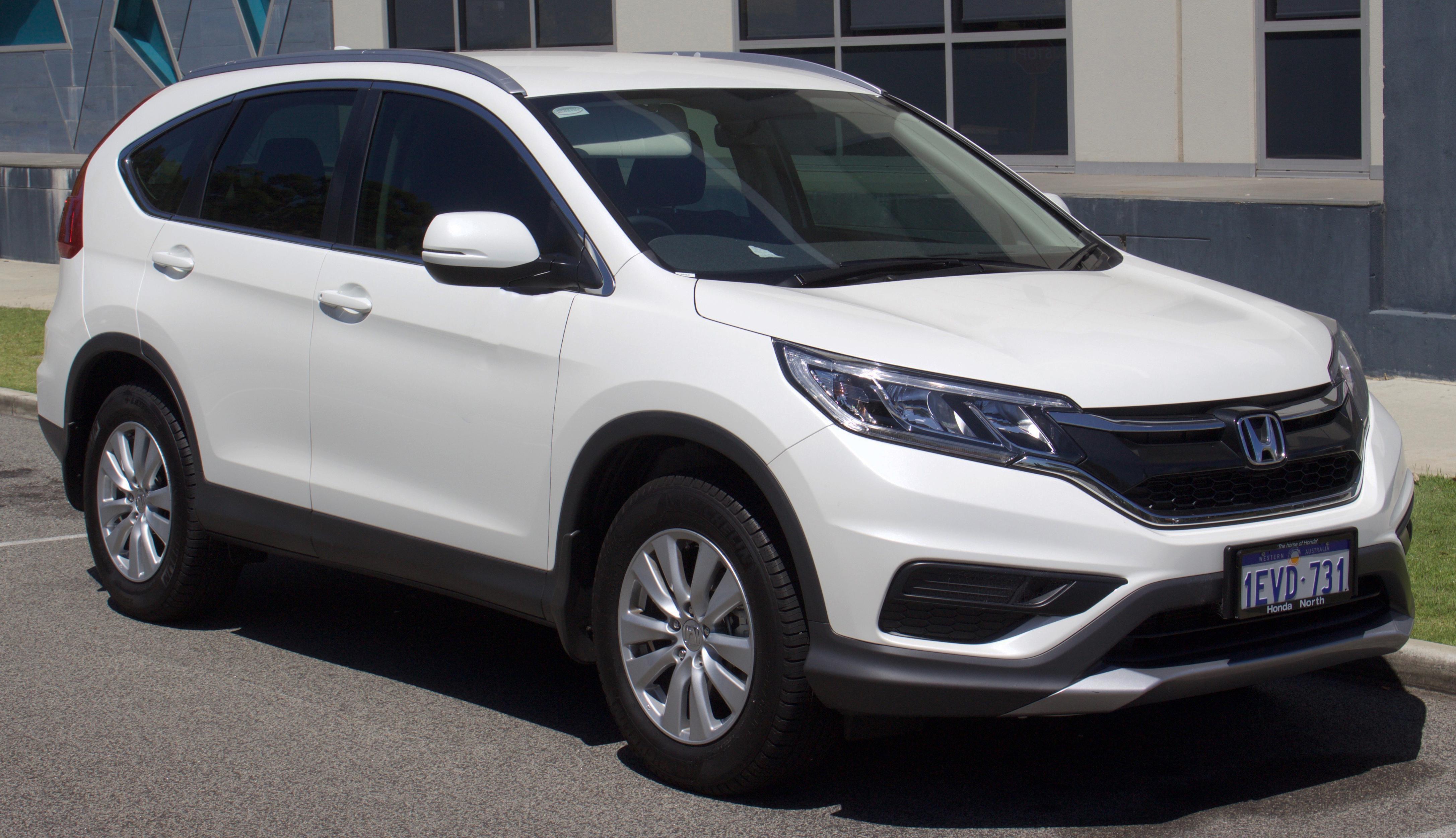 Honda Crv New Car