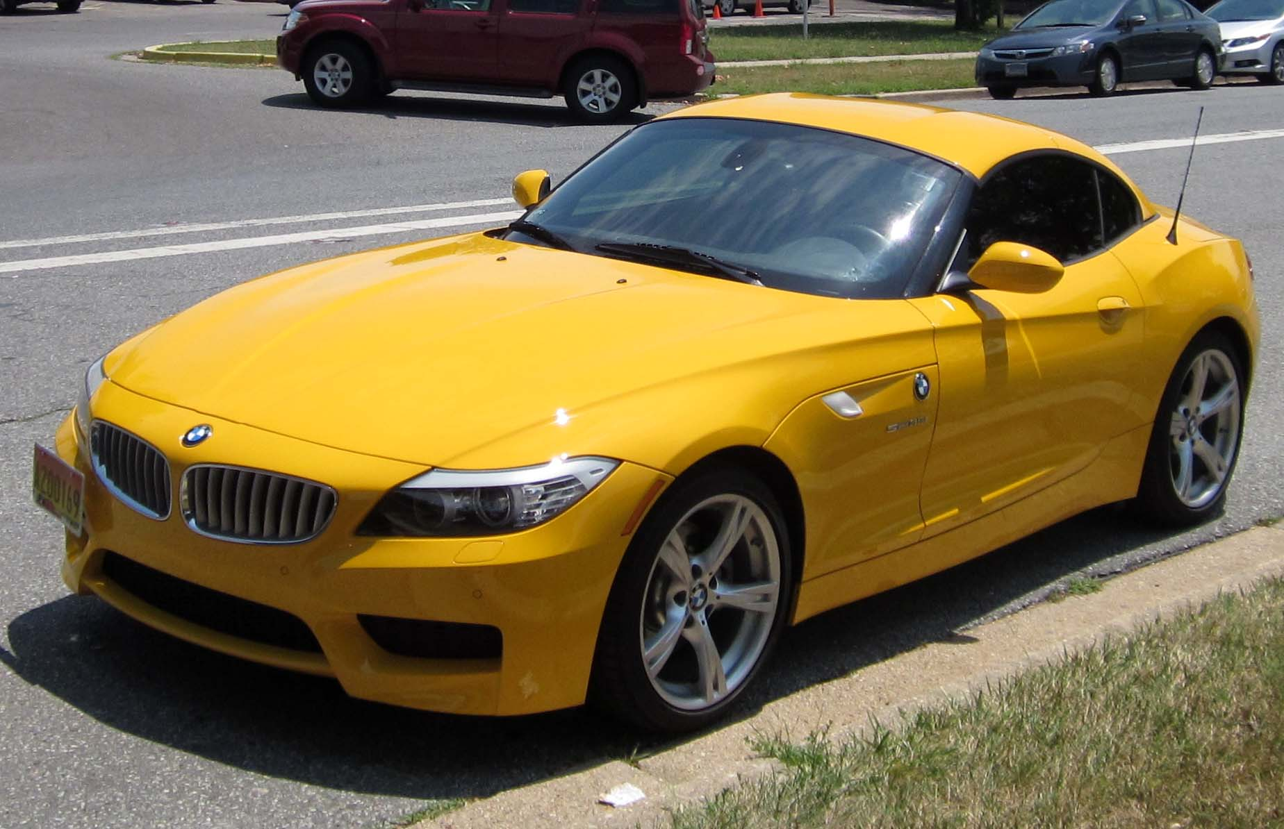File 2nd Bmw Z4 07 11 2012 Jpg Wikimedia Commons