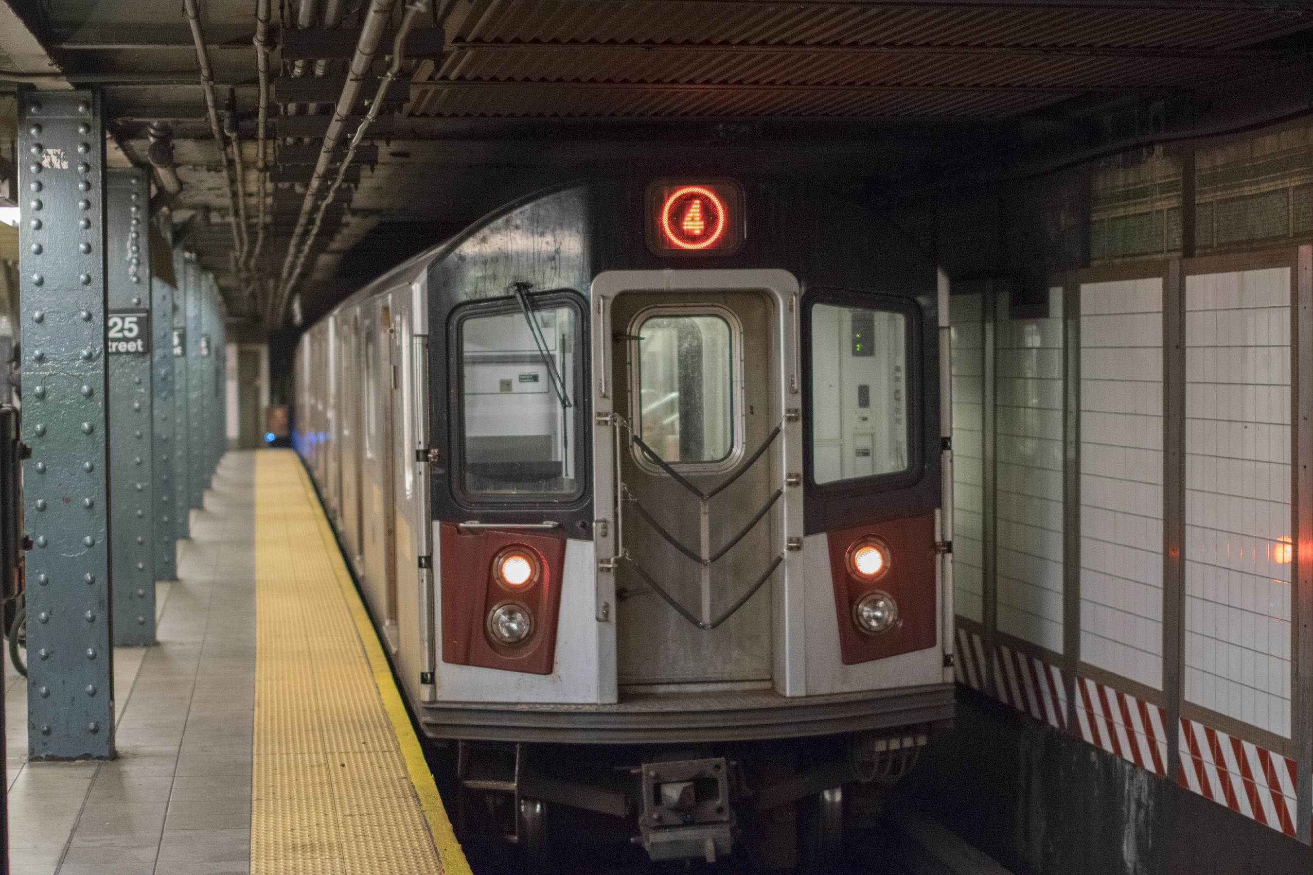 Subway Map Nyc 4 Train.4 New York City Subway Service Wikipedia