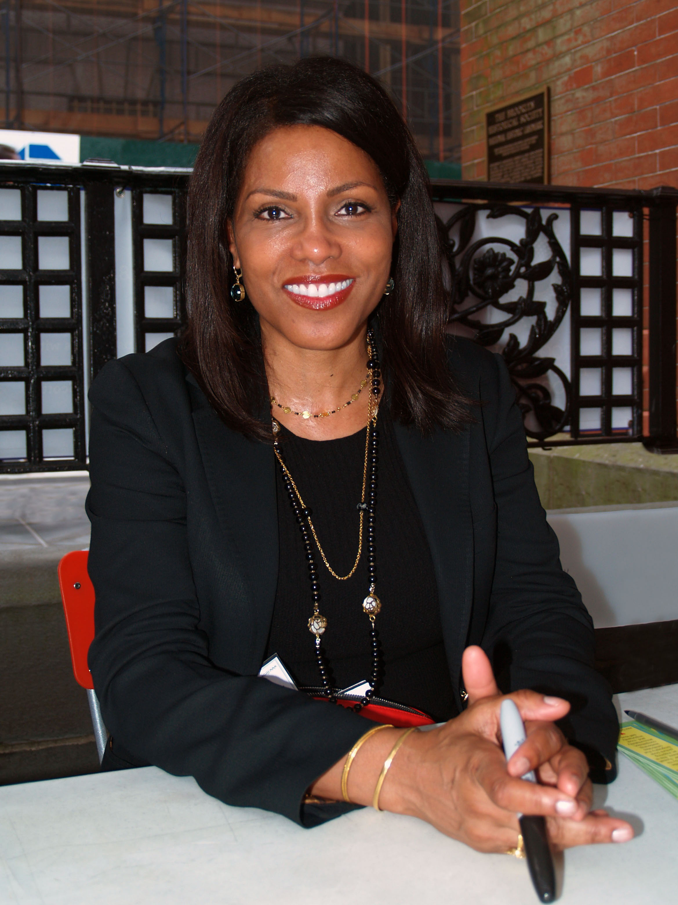 Shabazz at the 2014<br />[[Brooklyn Book Festival]]