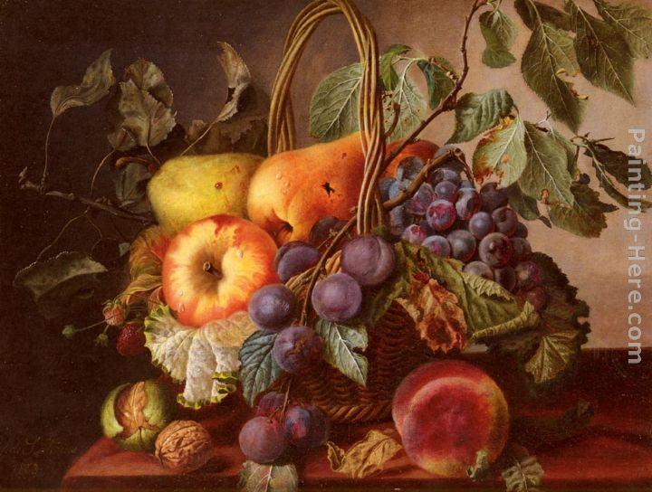 Fruit Basket Painting Images