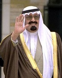 File photo of Abdullah of Saudi Arabia, 2002.  Image: Tina Hager.