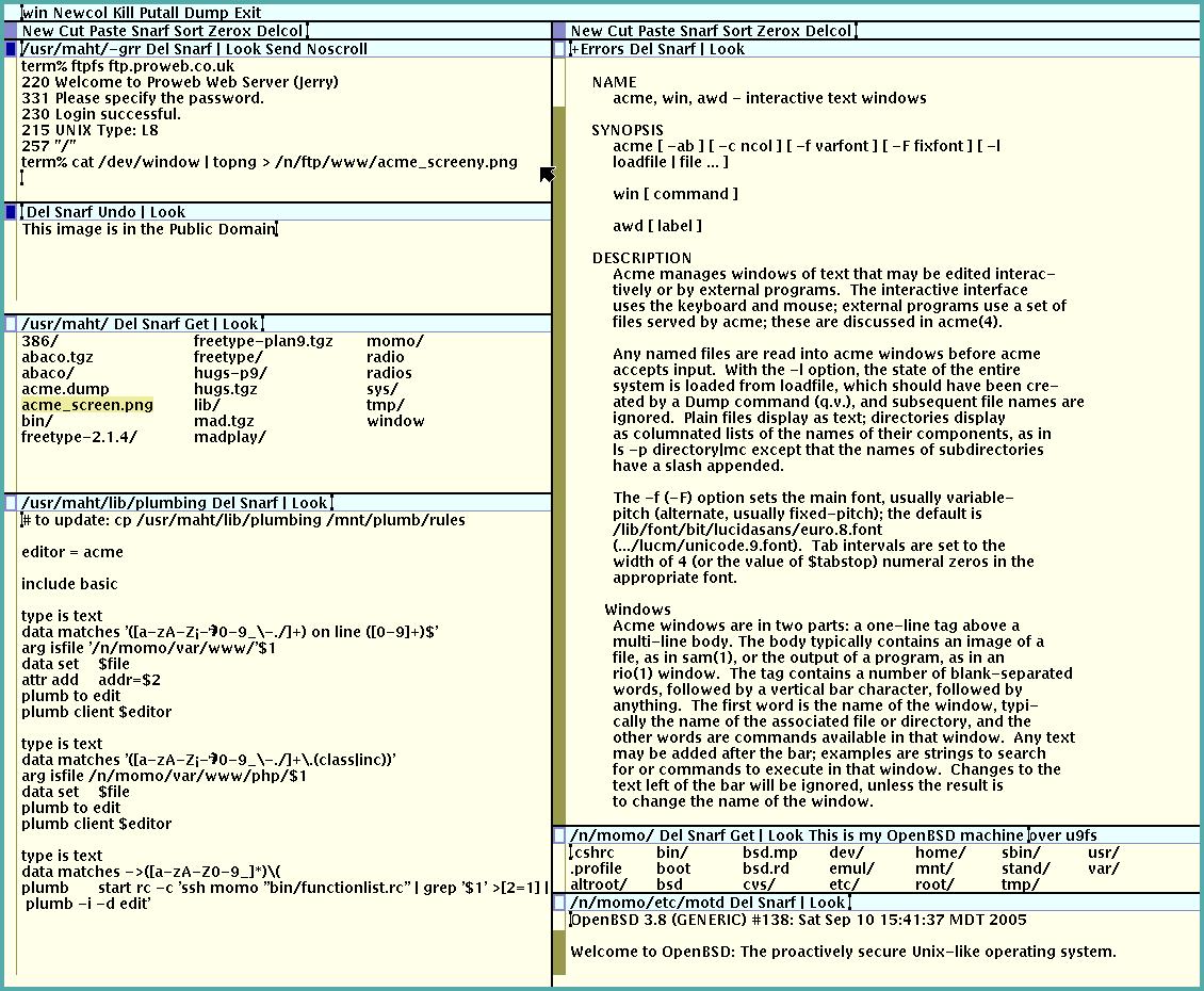 Acme Text Editor Wikipedia