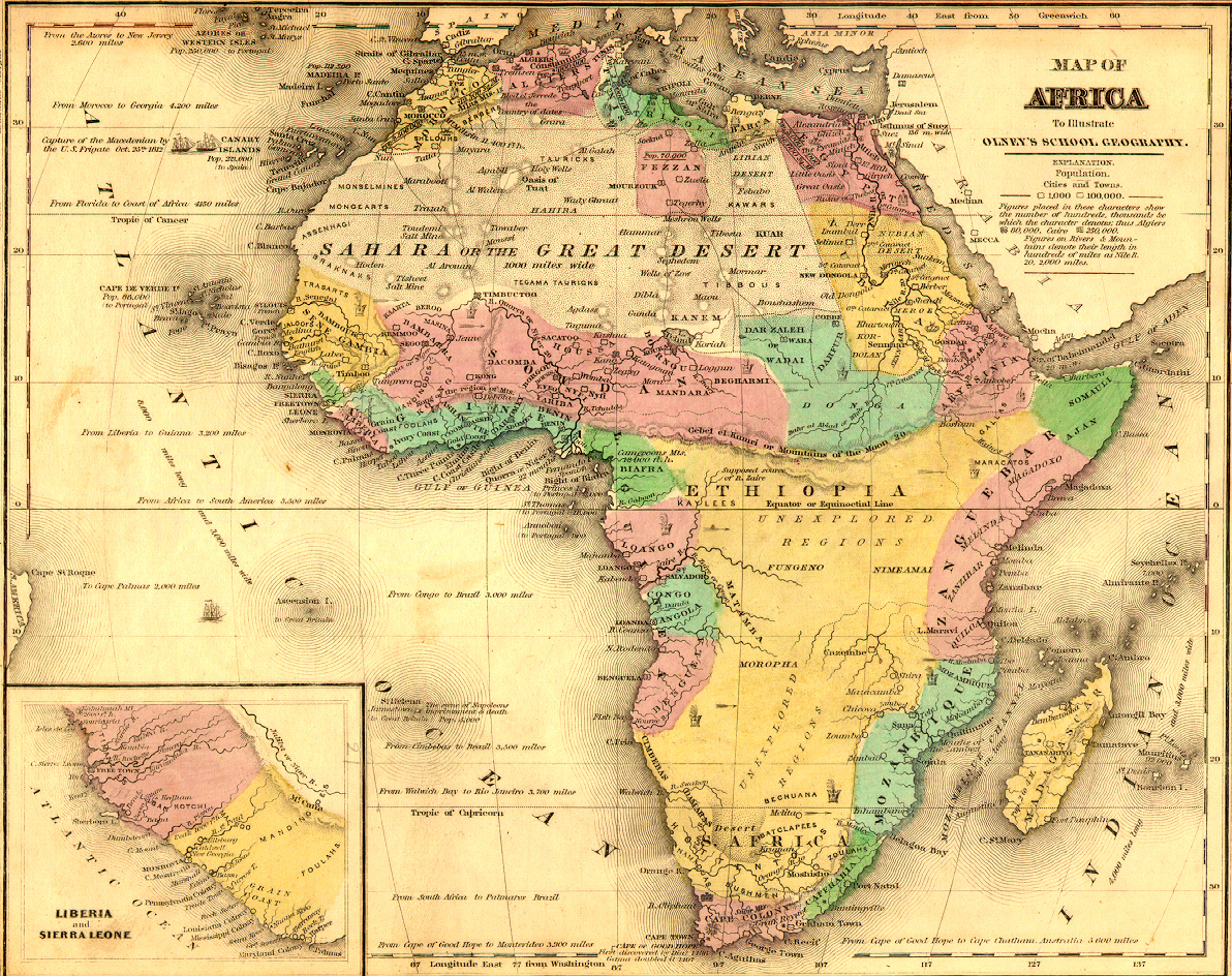 File:African Map in 1840.   Wikimedia Commons
