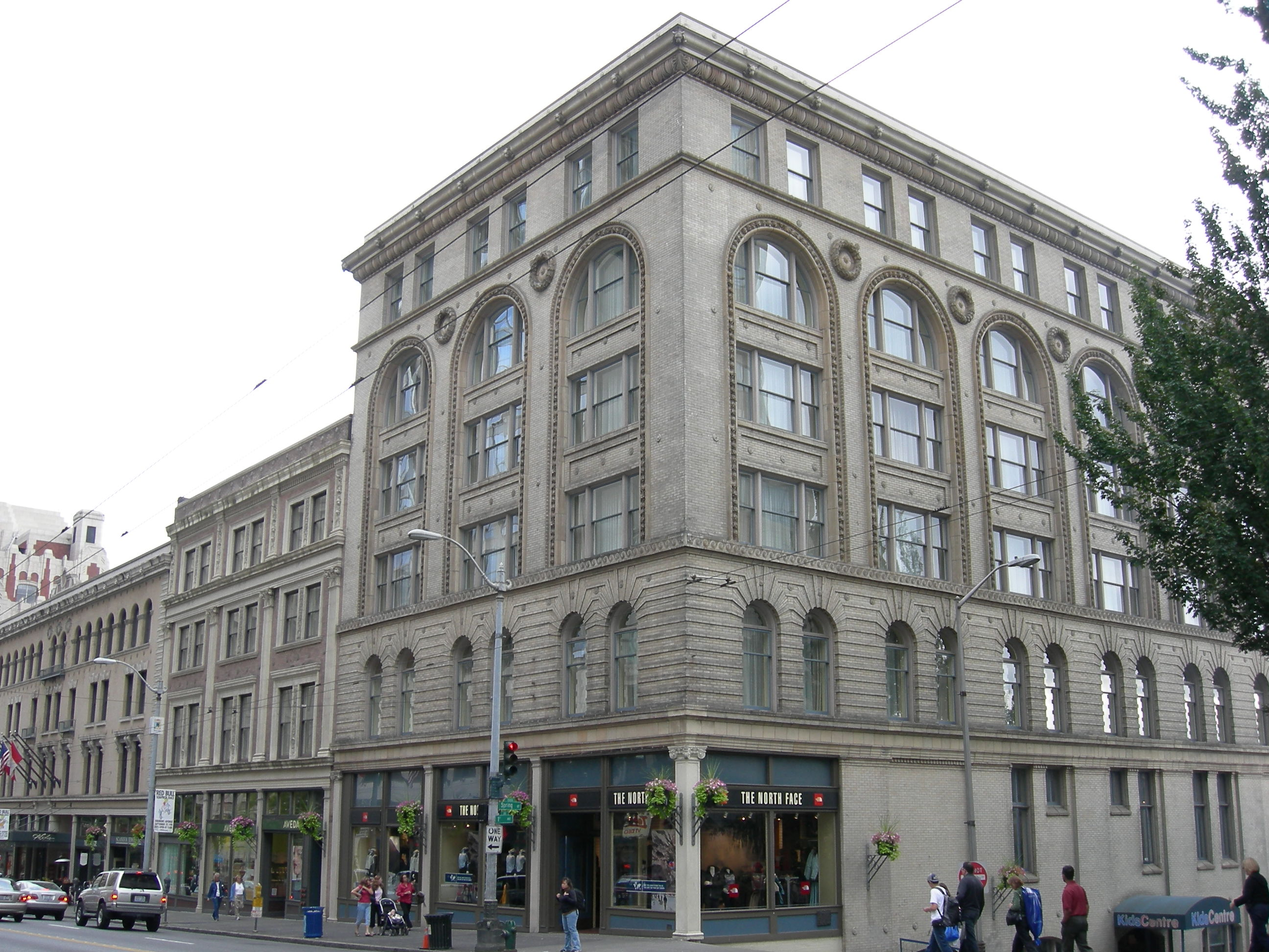 Globe Building, Beebe Building and Hotel Cecil