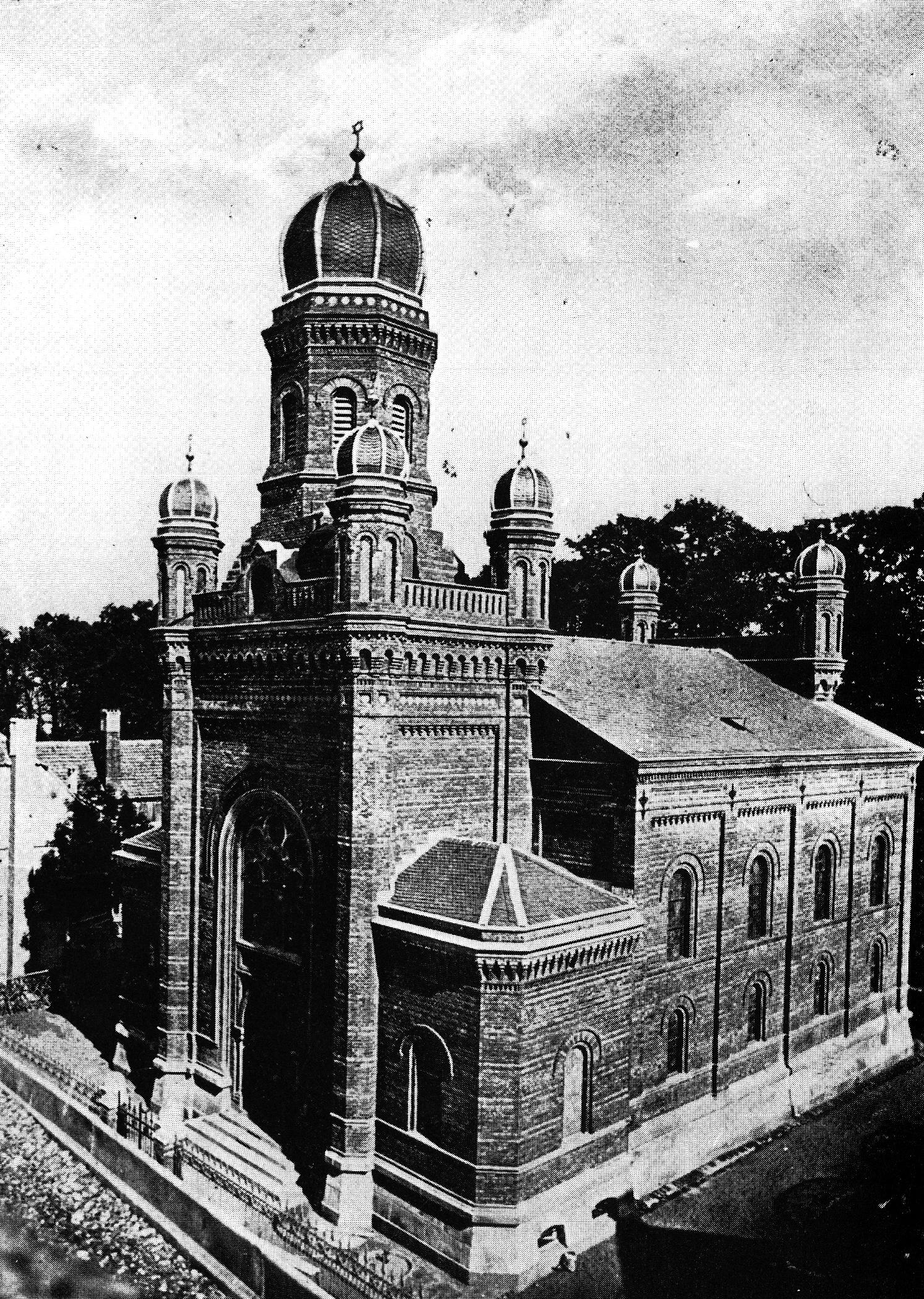 Alte Synagoge zerstört während der Reichspogromnacht 1938