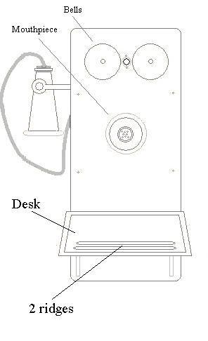 telephone desk