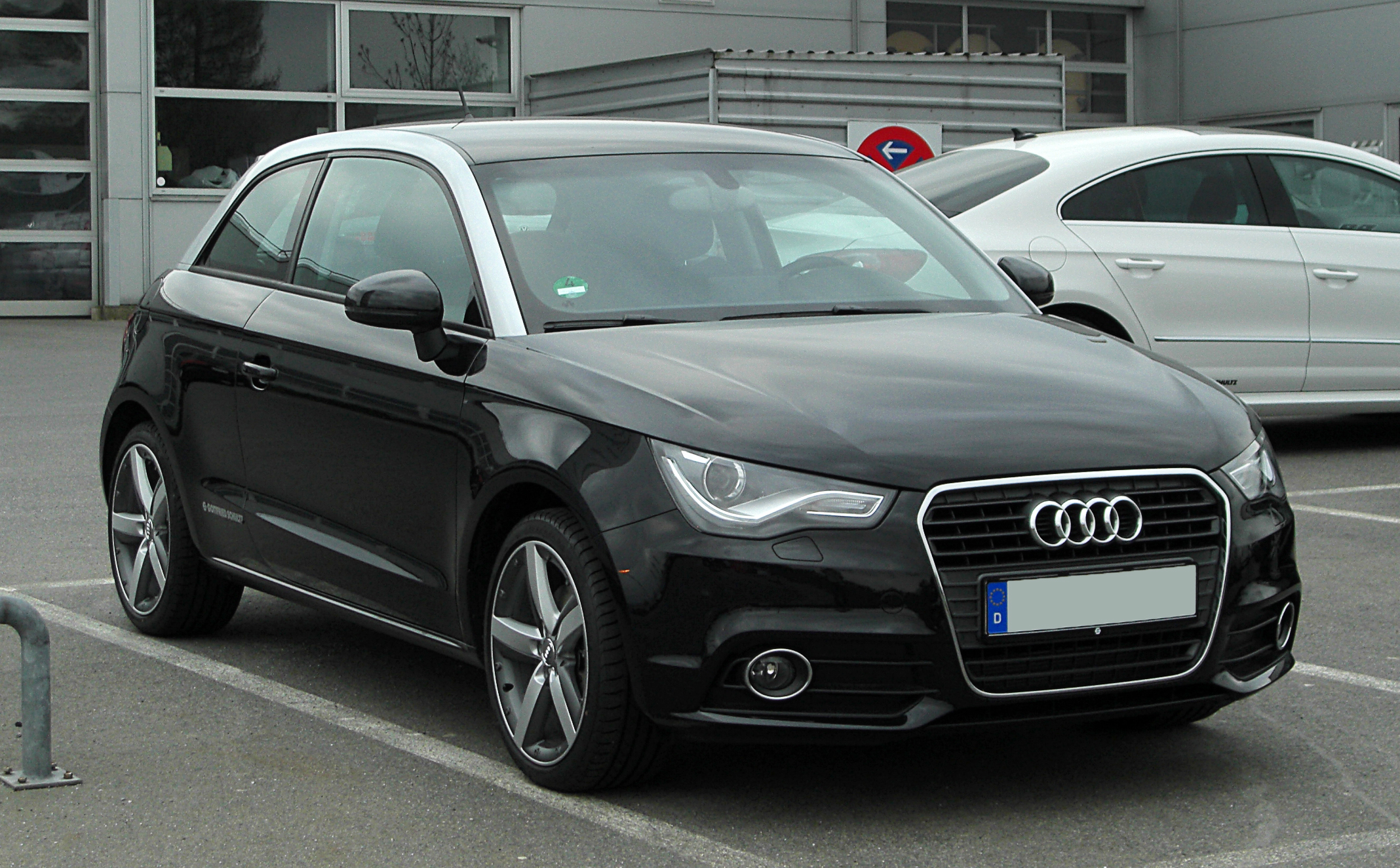 file audi a1 1 4 tfsi ambition frontansicht 7 april 2011 wikimedia commons. Black Bedroom Furniture Sets. Home Design Ideas