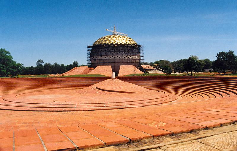 file auroville dome     wikimedia commons