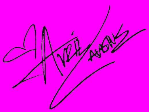 Avril Lavigne signature