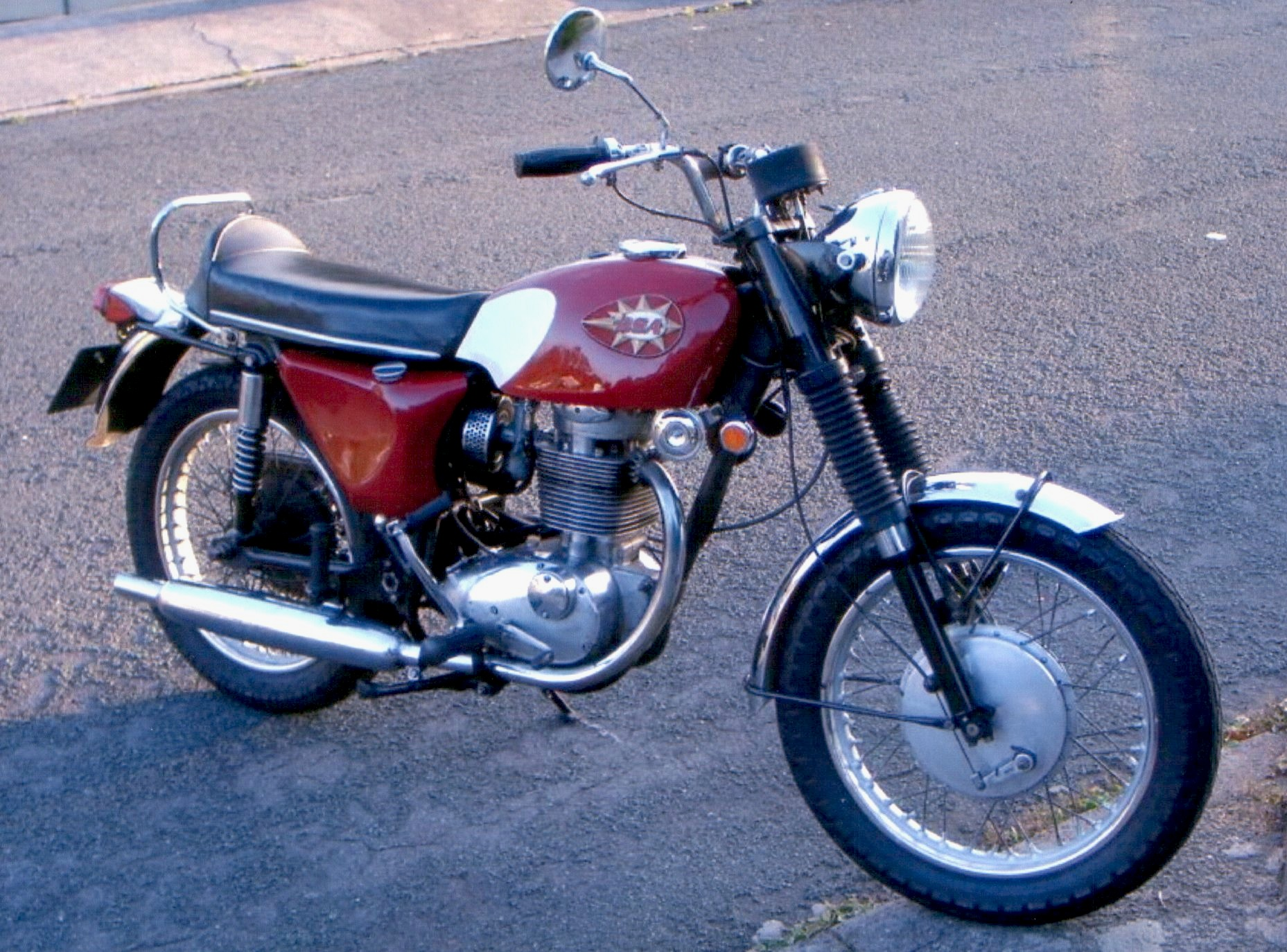 BSA B44 Shooting Star - Wikipedia