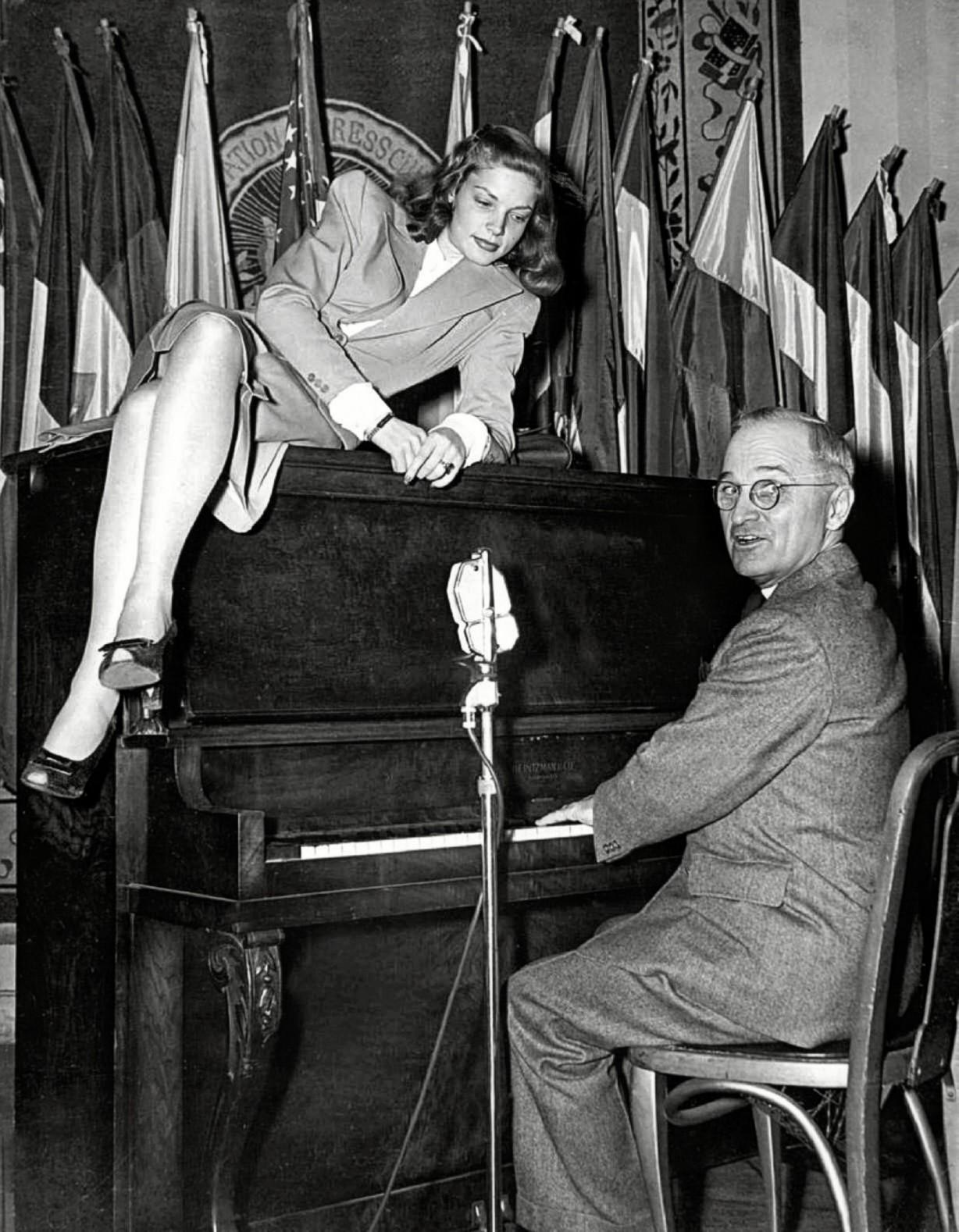 Bacall Truman