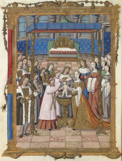 Baptême de Sigebert III