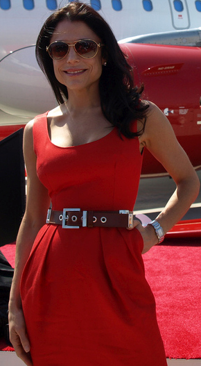 Bethenny Frankel at the Virgin America OC Launch.