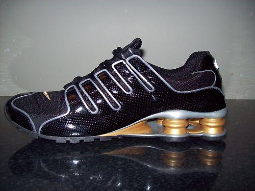 Black Nike Air Shocks File:black Gold Nike Air