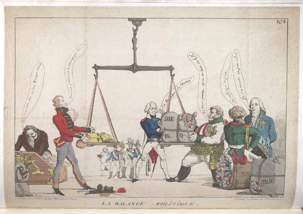 Kann Mir Jemand Diese Karikatur Vom Wiener Kongress Erklaren
