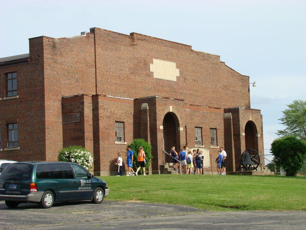 Bourbon Community Building Gymnasium Wikipedia