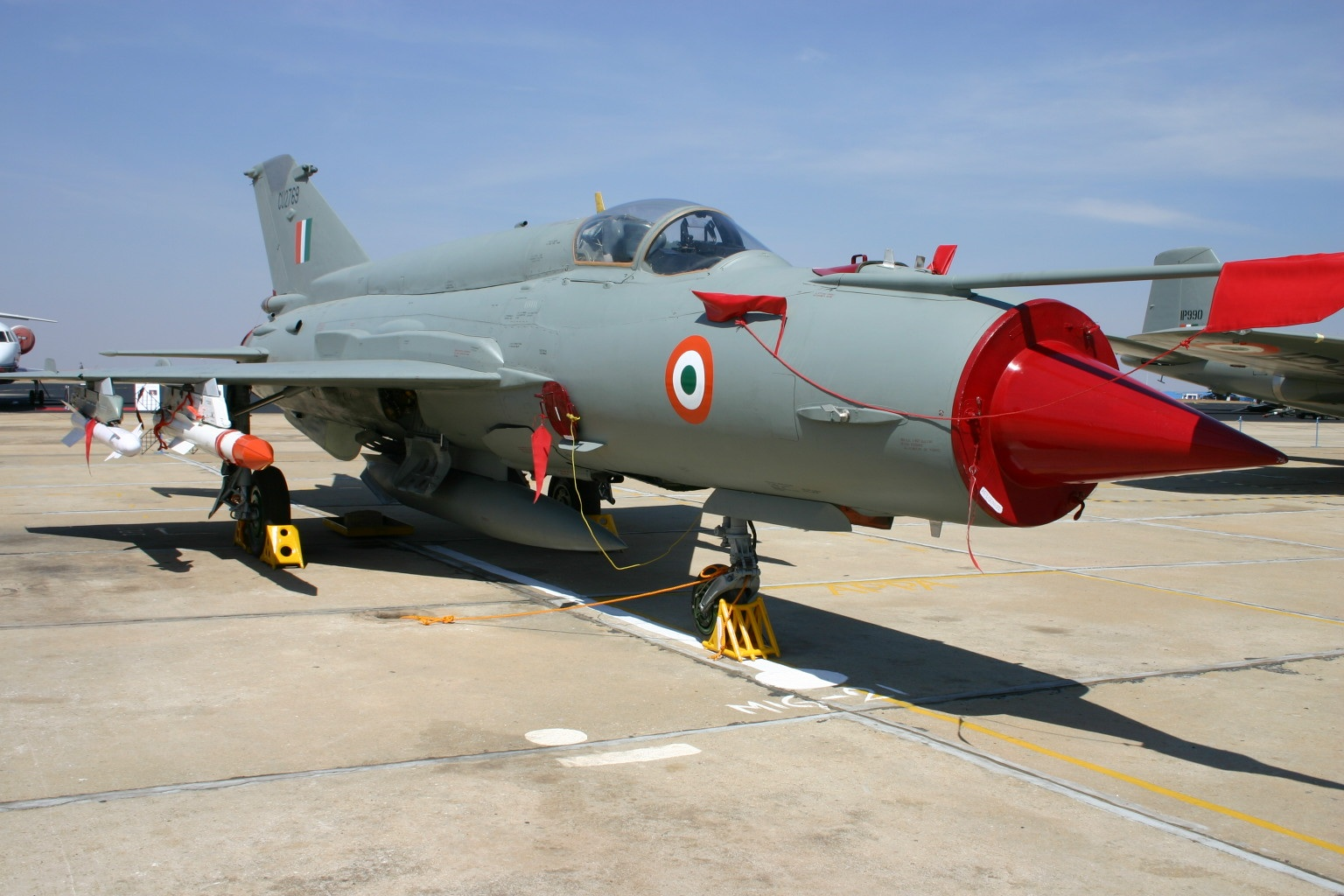 File:CU2769 Mikoyan Mig-21 Indian Air Force (8413513629).jpg - Wikimedia Commons