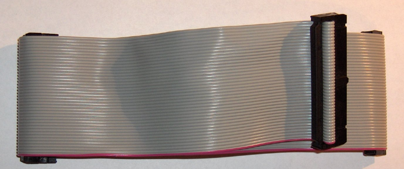Ide Ribbon Cable : File cable ide g wikimedia commons