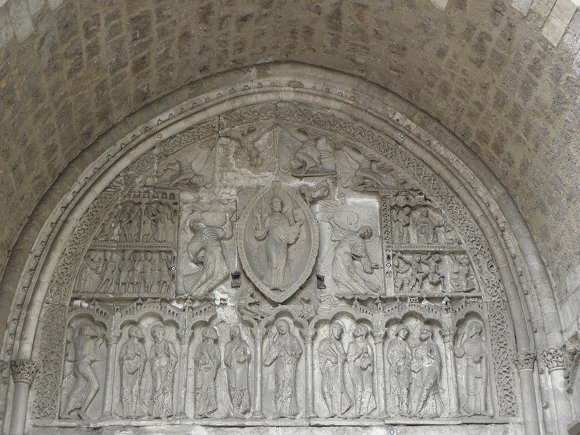 File cahors 46 cath drale saint tienne portail roman 13 - Cathedrale saint etienne de cahors ...