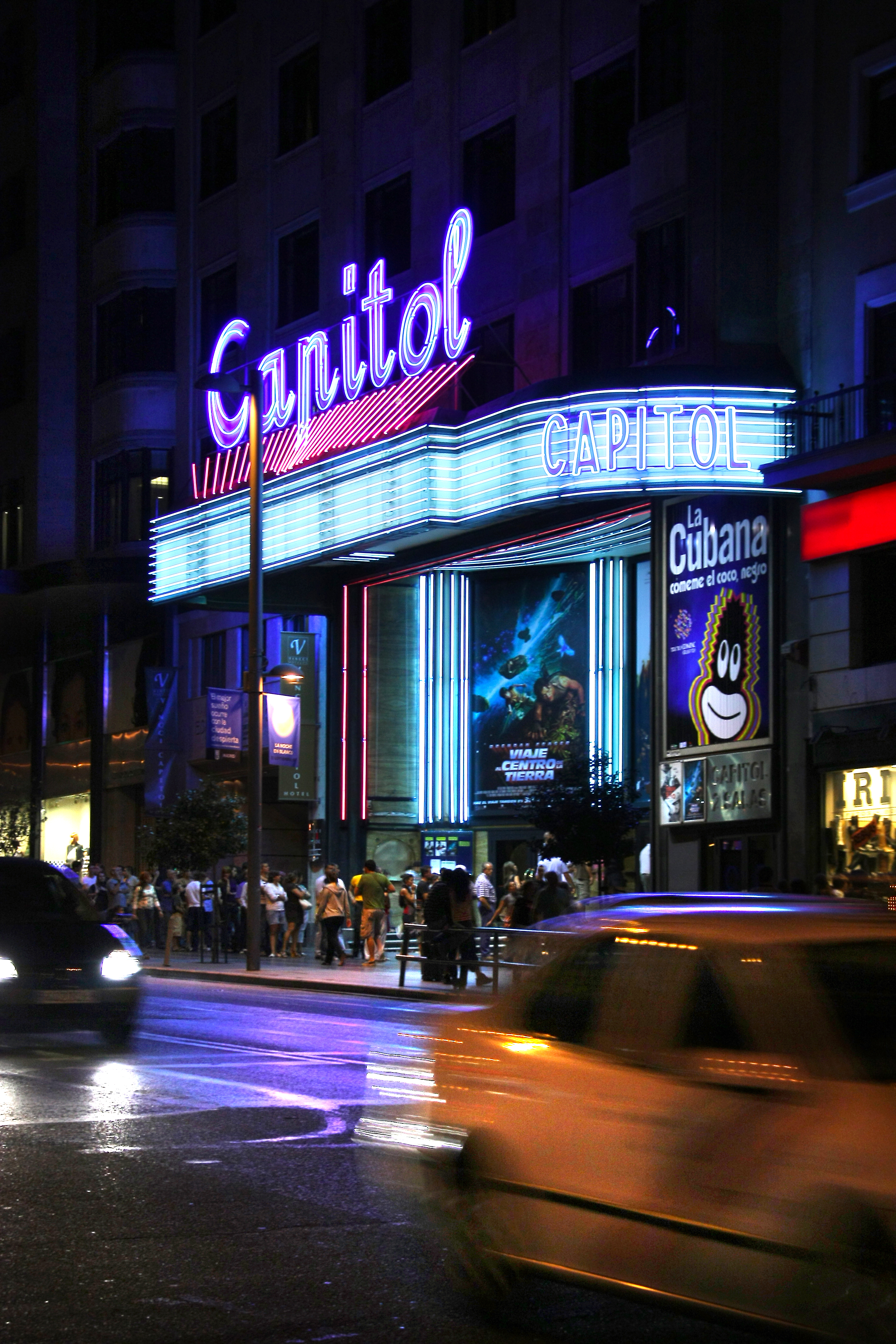 Capitol Cinema. Gran Vía street. Spain.jpg