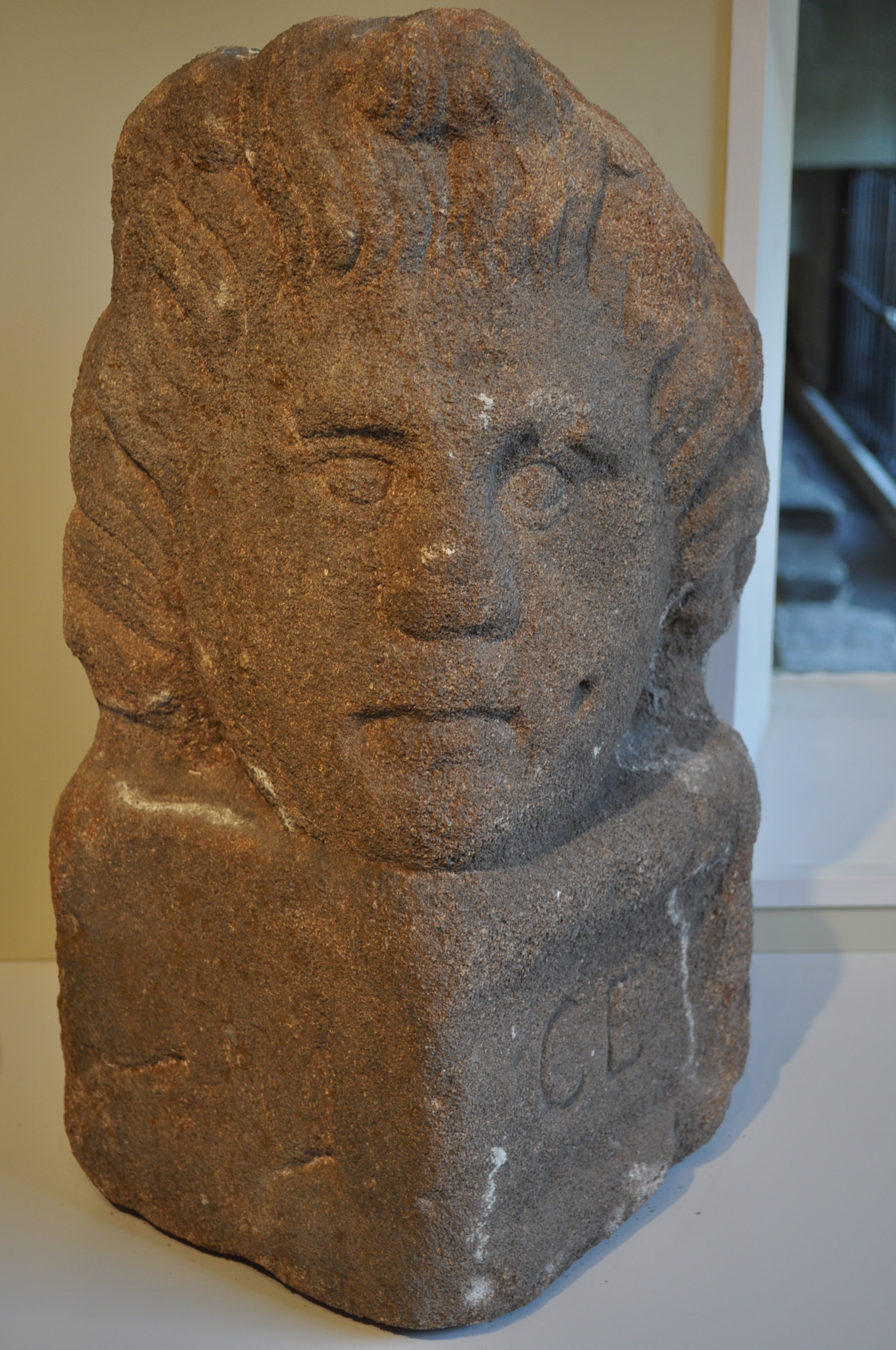 File carved stone head yorym  g wikimedia commons