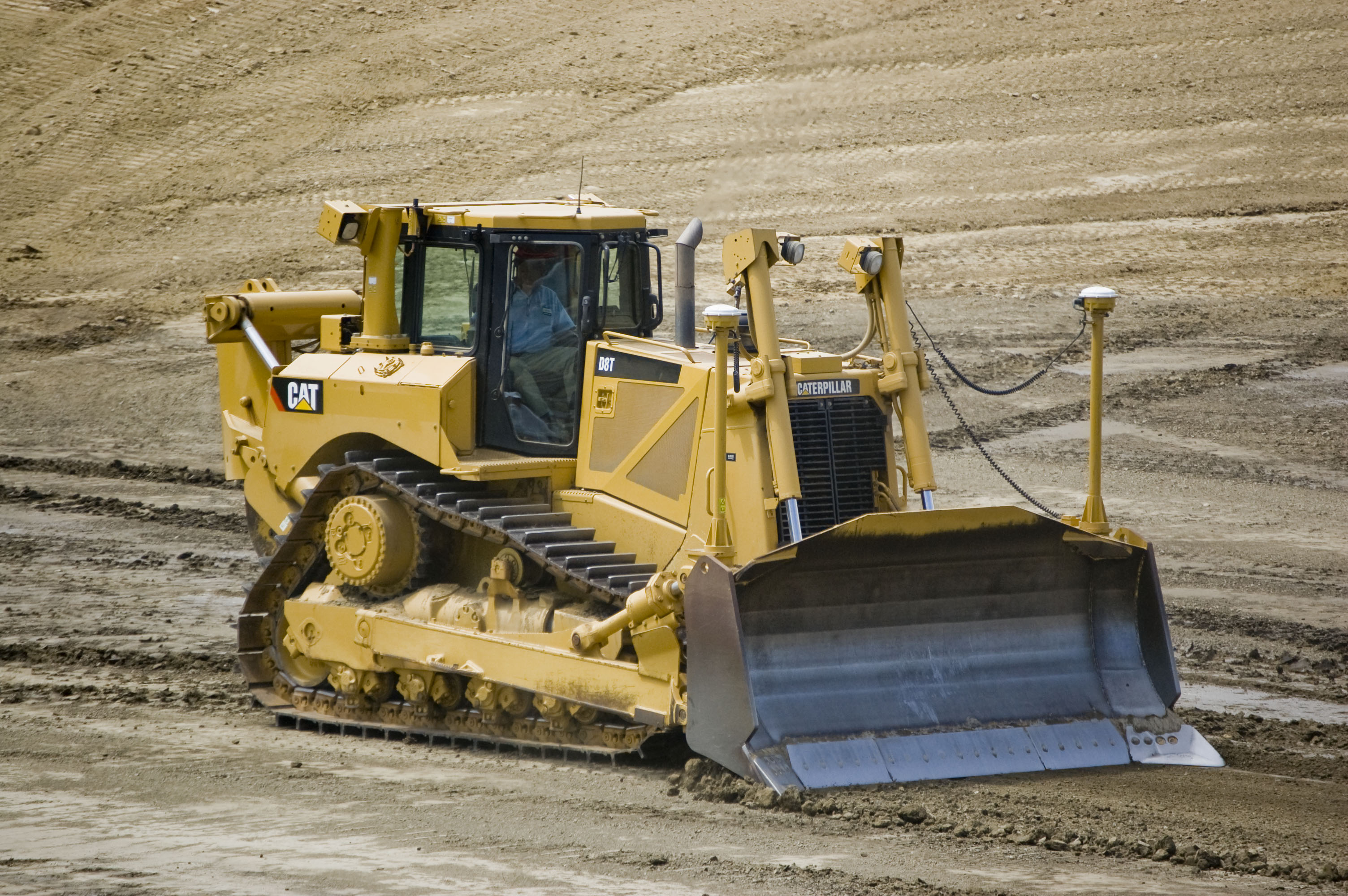 Cat Bulldozers Gps Set Up Videos
