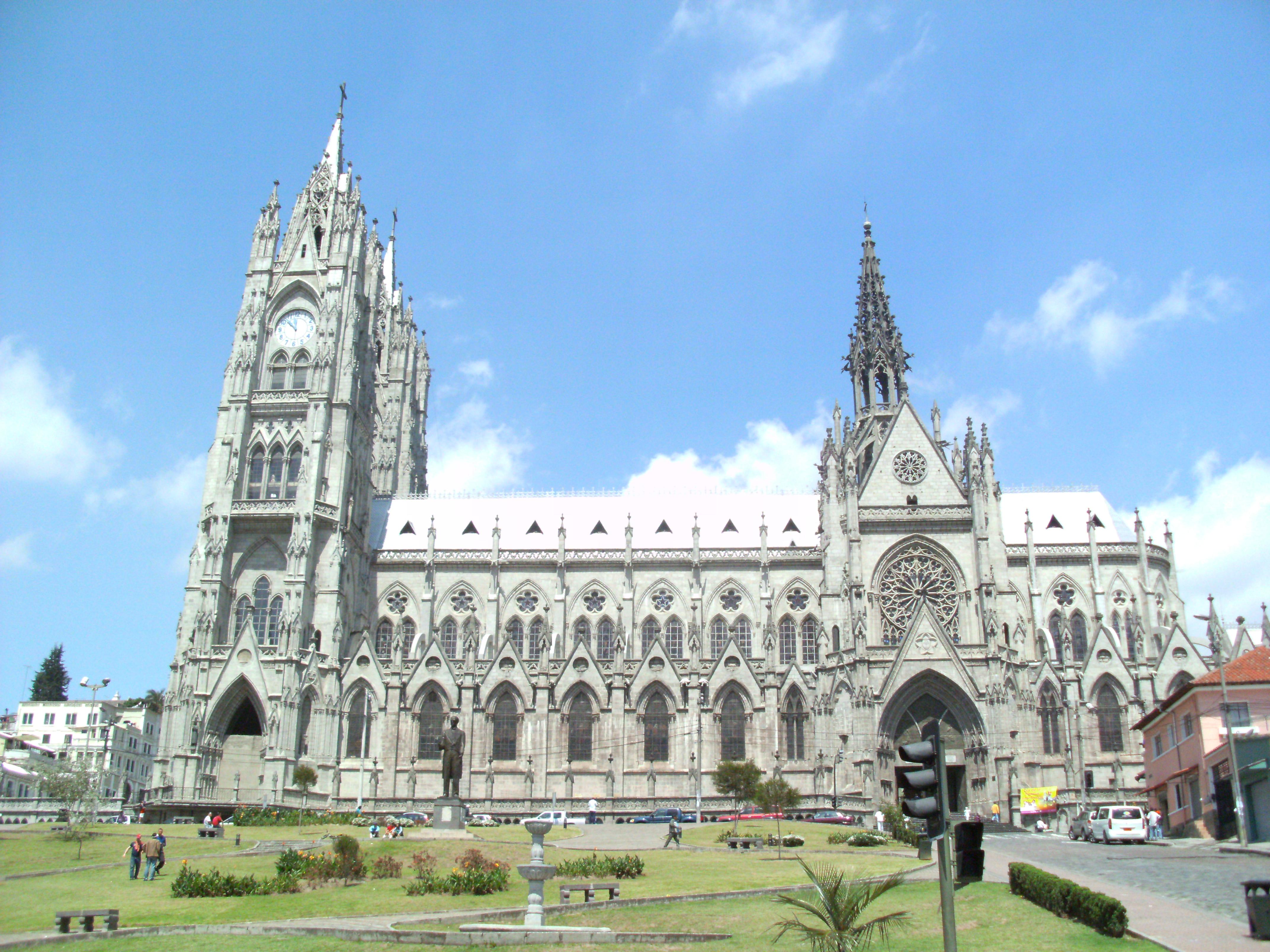 Basílica del Voto Nacional - Wikipedia, la enciclopedia libre