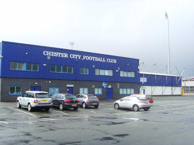 Chester City Football Club Stadium - geograph.org.uk - 741350