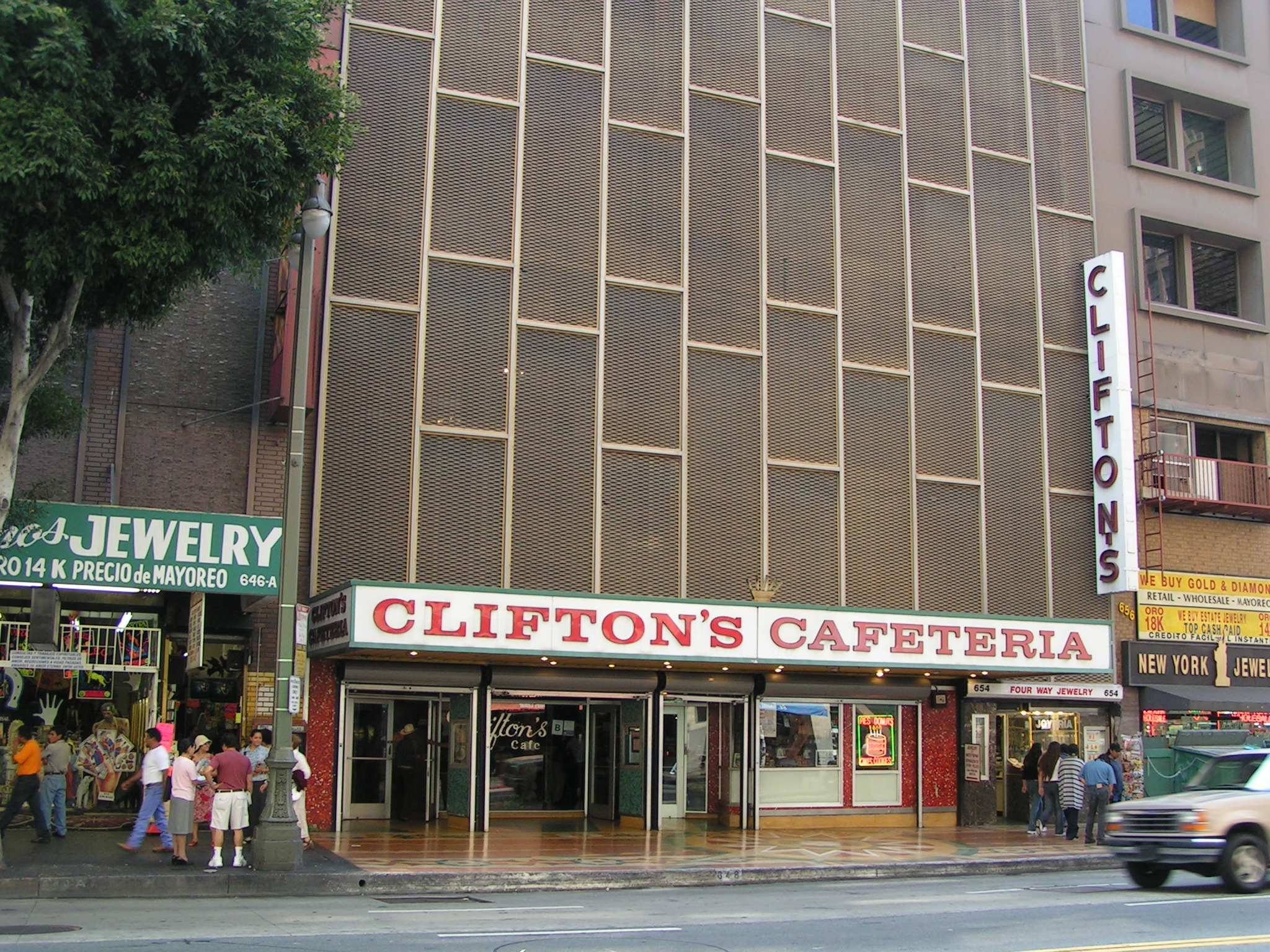 Clifton's Cafeteria - Wikiwand