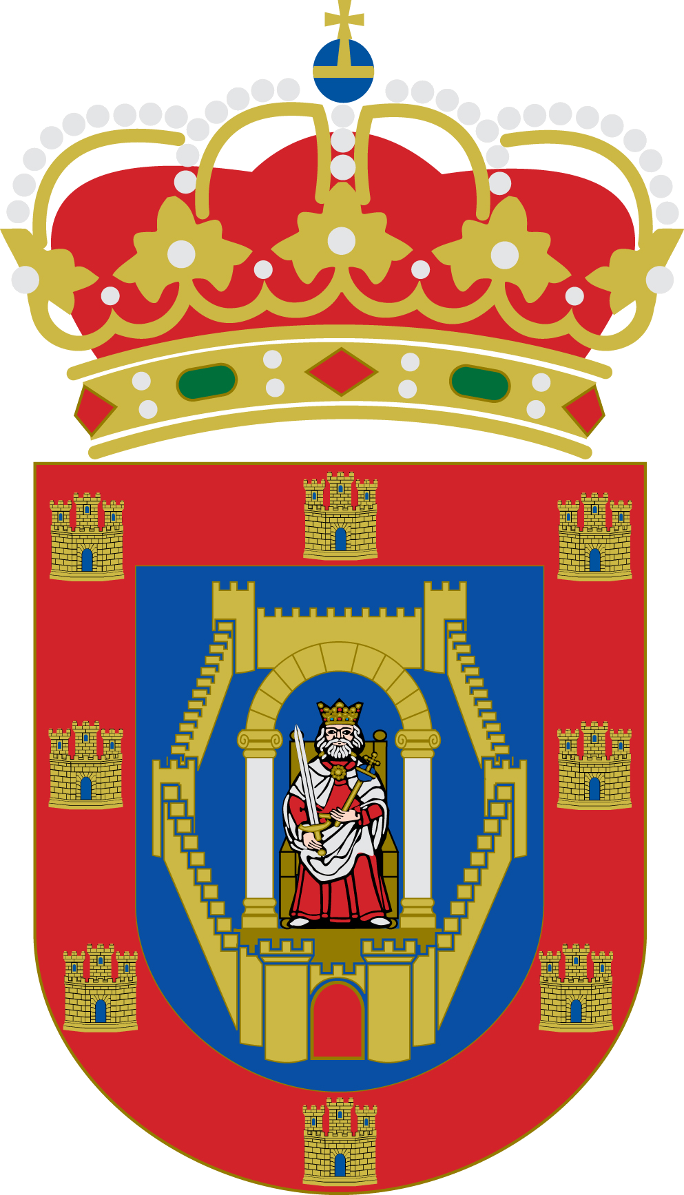 File:CoA Ciudad Real.png - Wikimedia Commons