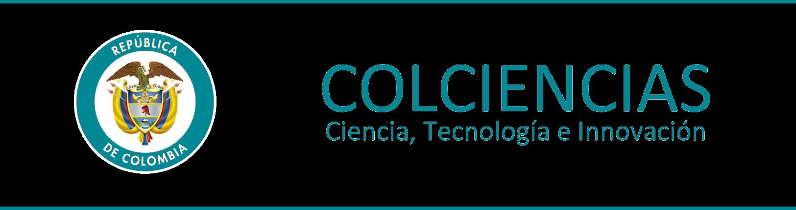 enlace y logo de colciencias